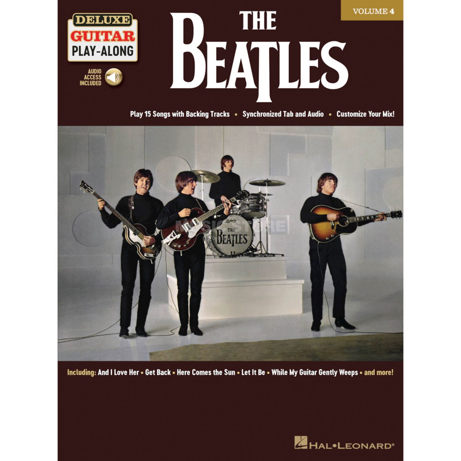 Hal Leonard Deluxe Guitar Play-Along: The Beatles Product Image