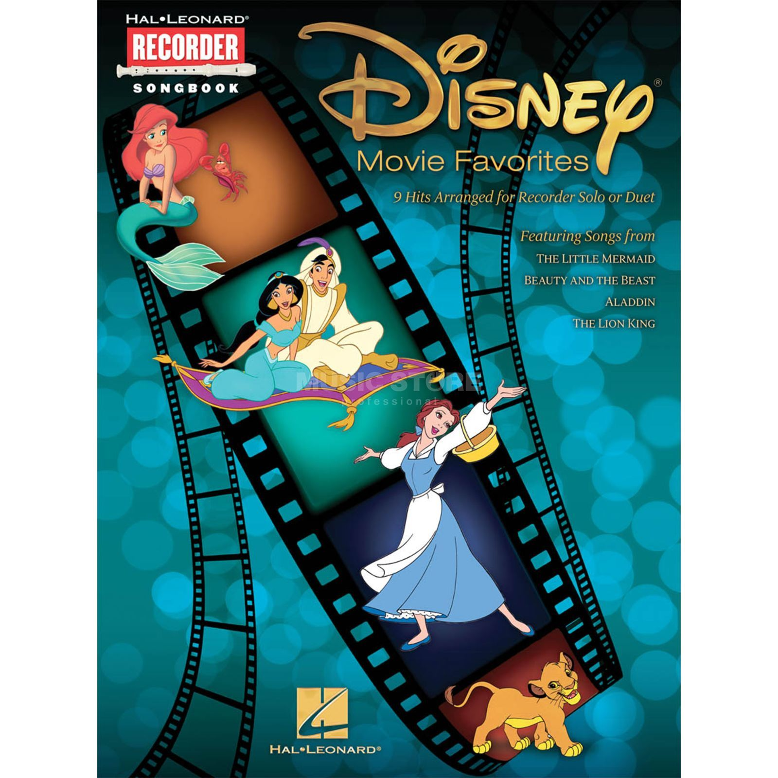Hal Leonard Disney Movie Favourites Blockflöte Produktbild
