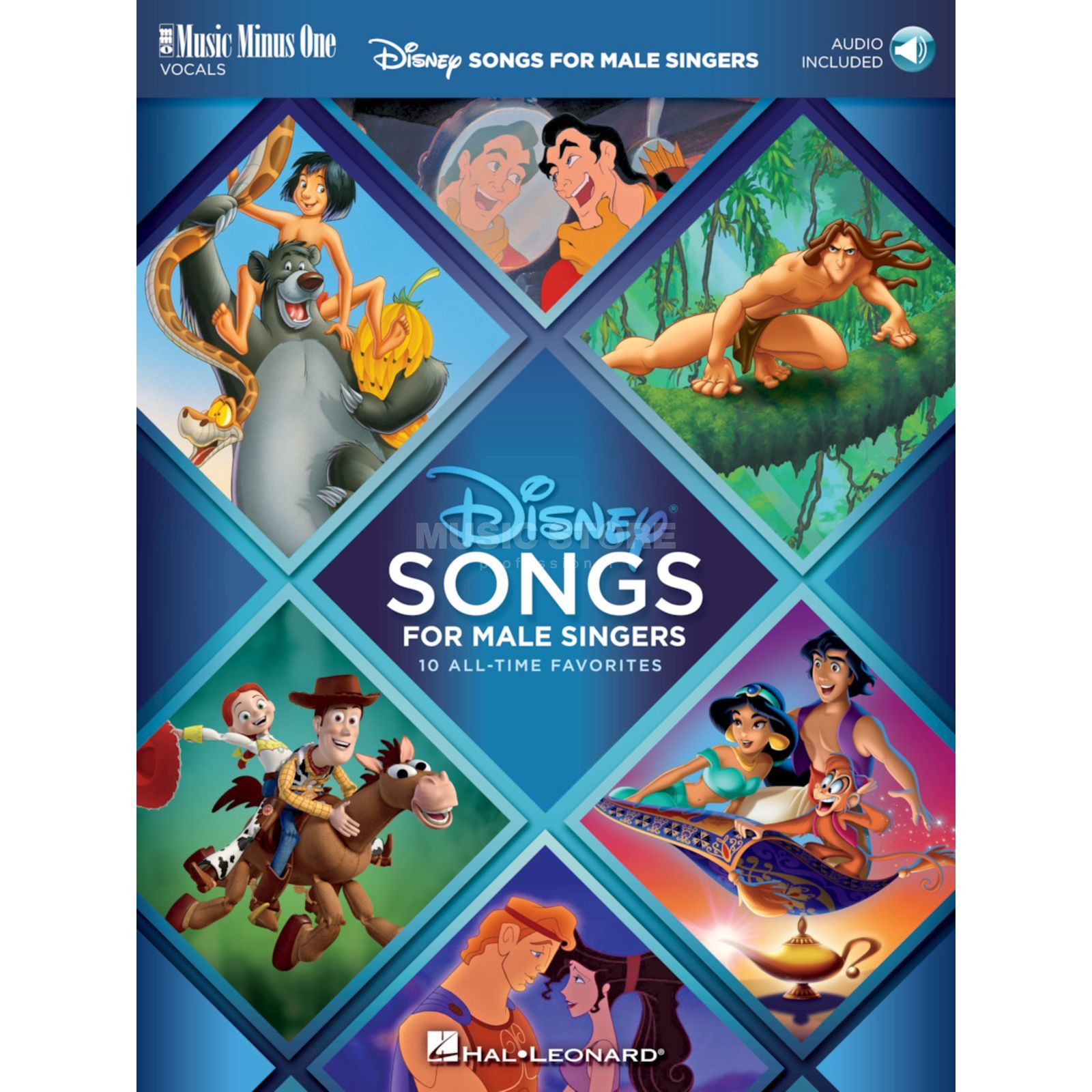Hal Leonard Disney Songs for Male Singers Product Image