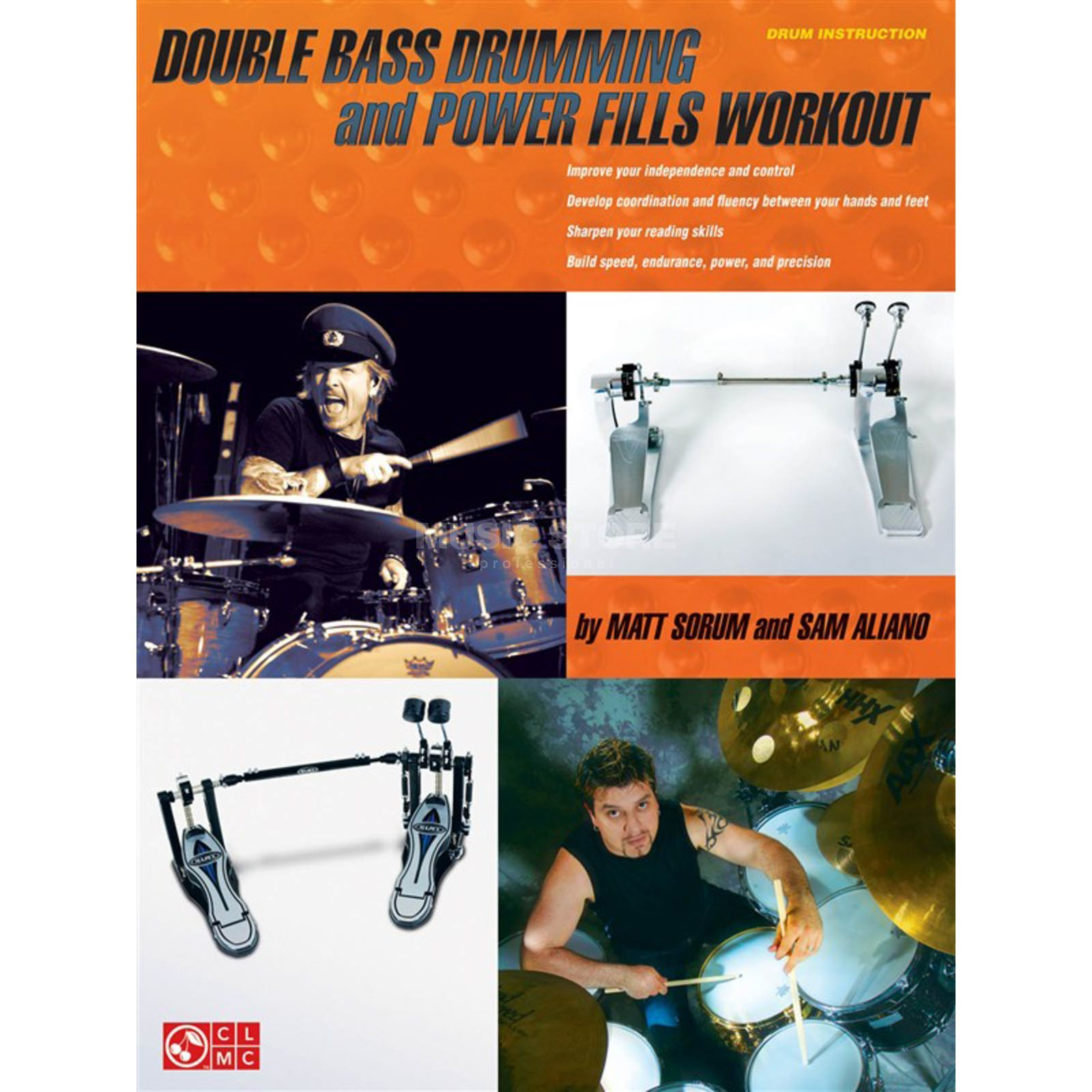 Hal Leonard Double Bass Drumming and Power Fills Workout, Sorum/Aliano Produktbild