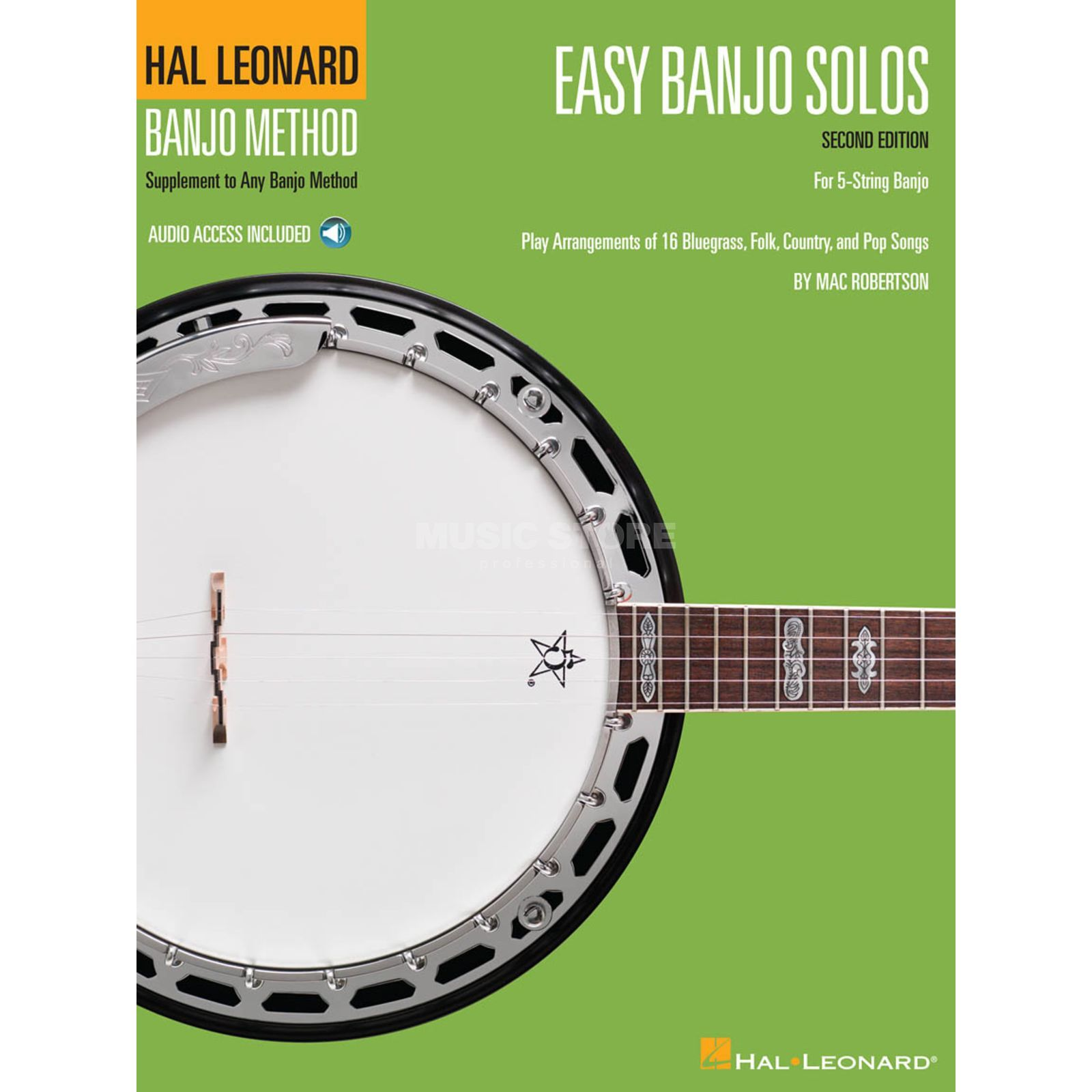Hal Leonard Easy Banjo Solos for 5-String Second Edition Produktbild