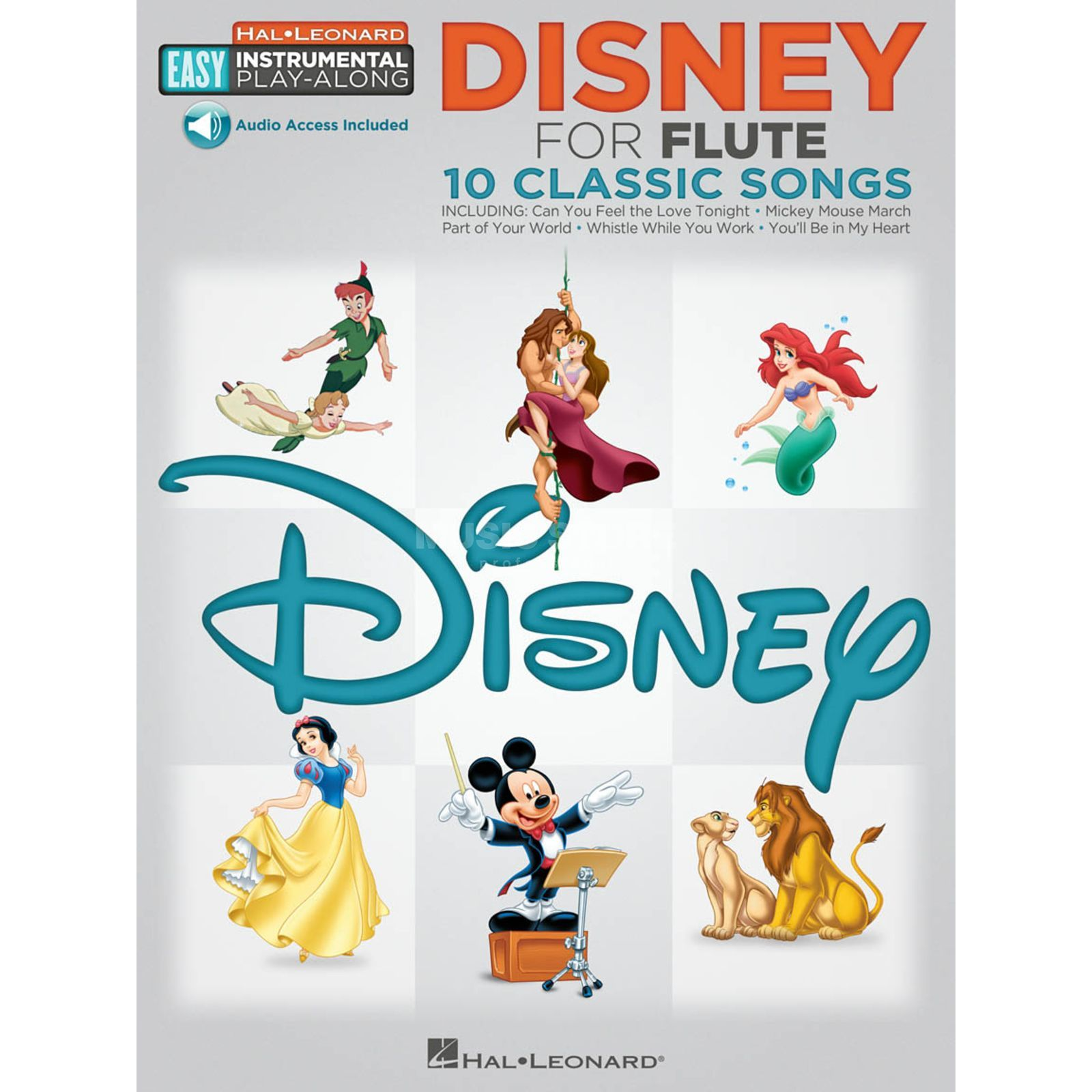 Hal Leonard Easy Play-Along: Disney Flöte Produktbild