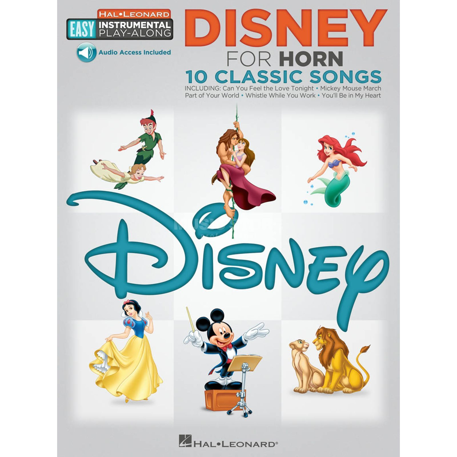 Hal Leonard Easy Play-Along: Disney French Horn Produktbillede