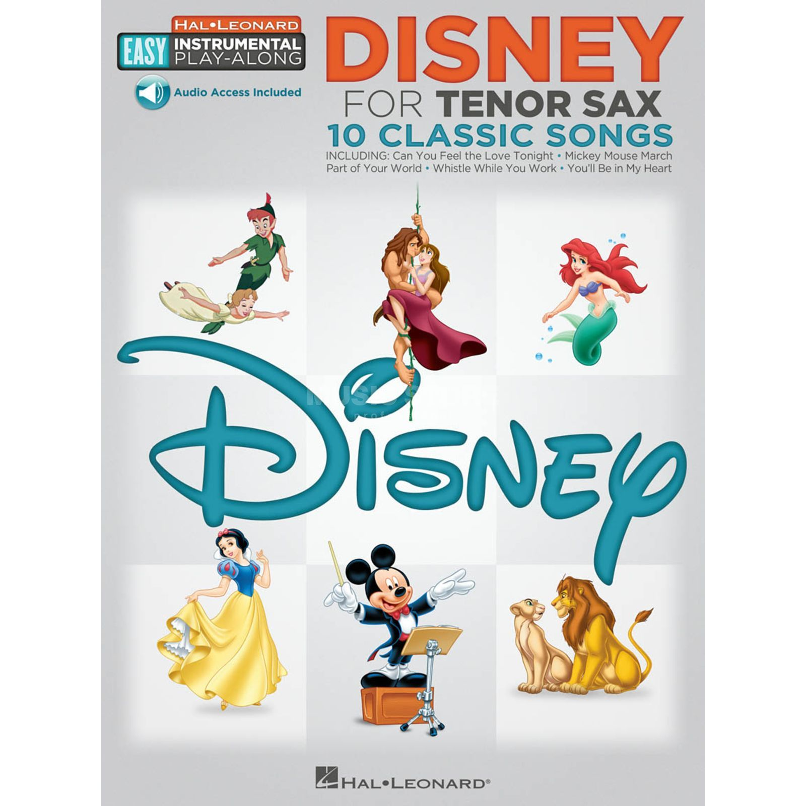 Hal Leonard Easy Play-Along: Disney Tenor-Saxophon Produktbild