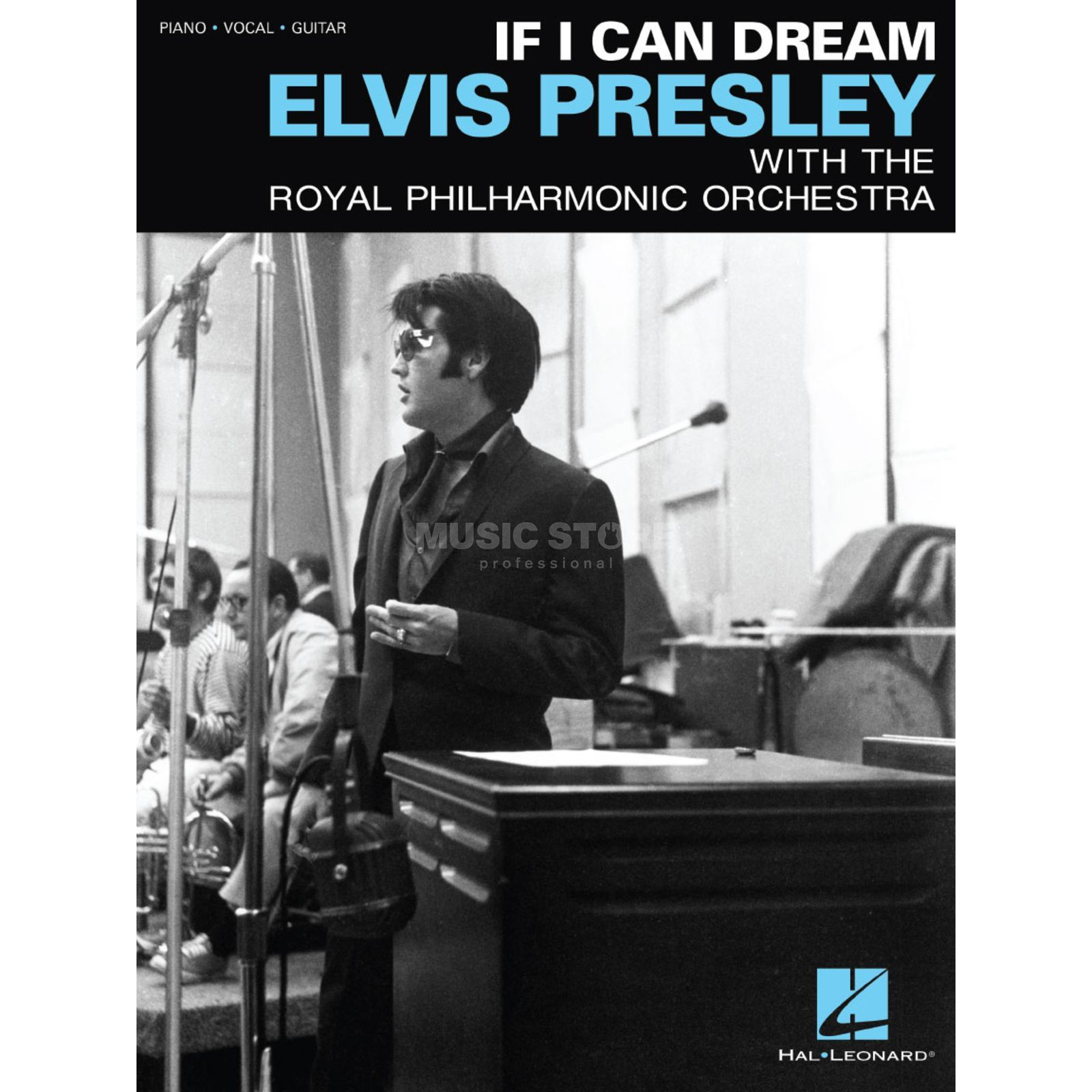 Hal Leonard Elvis Presley: If I Can Dream Image du produit