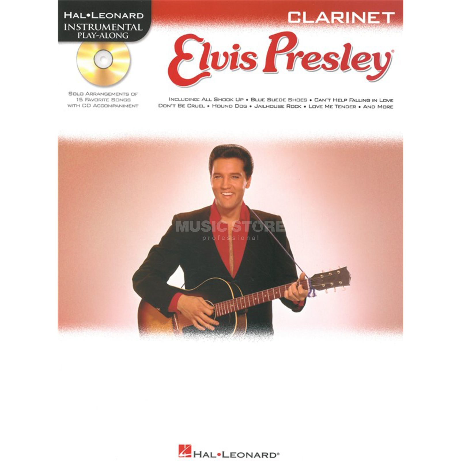 Hal Leonard Elvis Presley - Play-Along Clarinet & CD Produktbillede