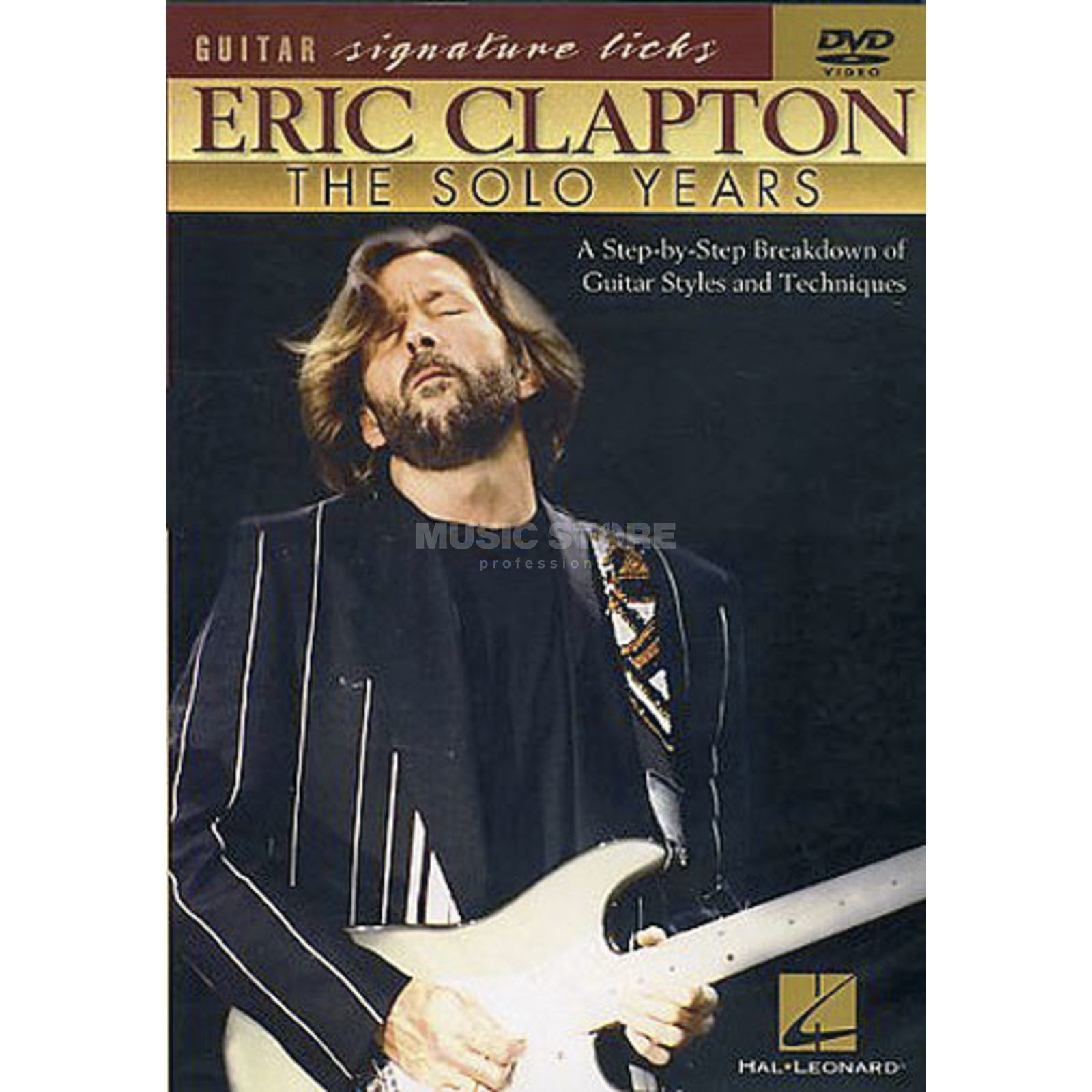 Hal Leonard Eric Clapton - Solo Years Guitar Signature Licks, DVD Produktbild