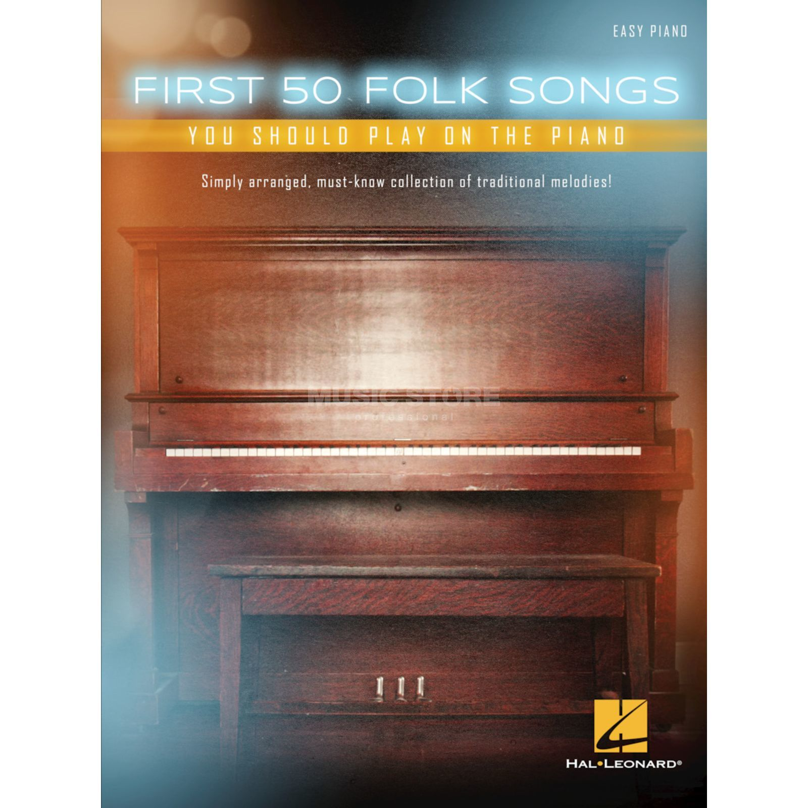 Hal Leonard First 50 Folk Songs You Should Play On The Piano Produktbild