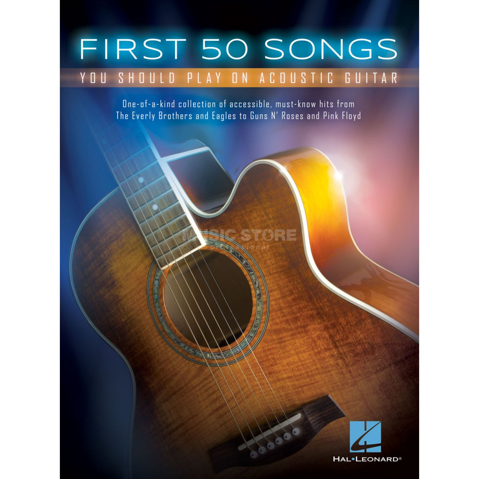 Hal Leonard First 50 Songs You Should Play On Acoustic Guitar Produktbild