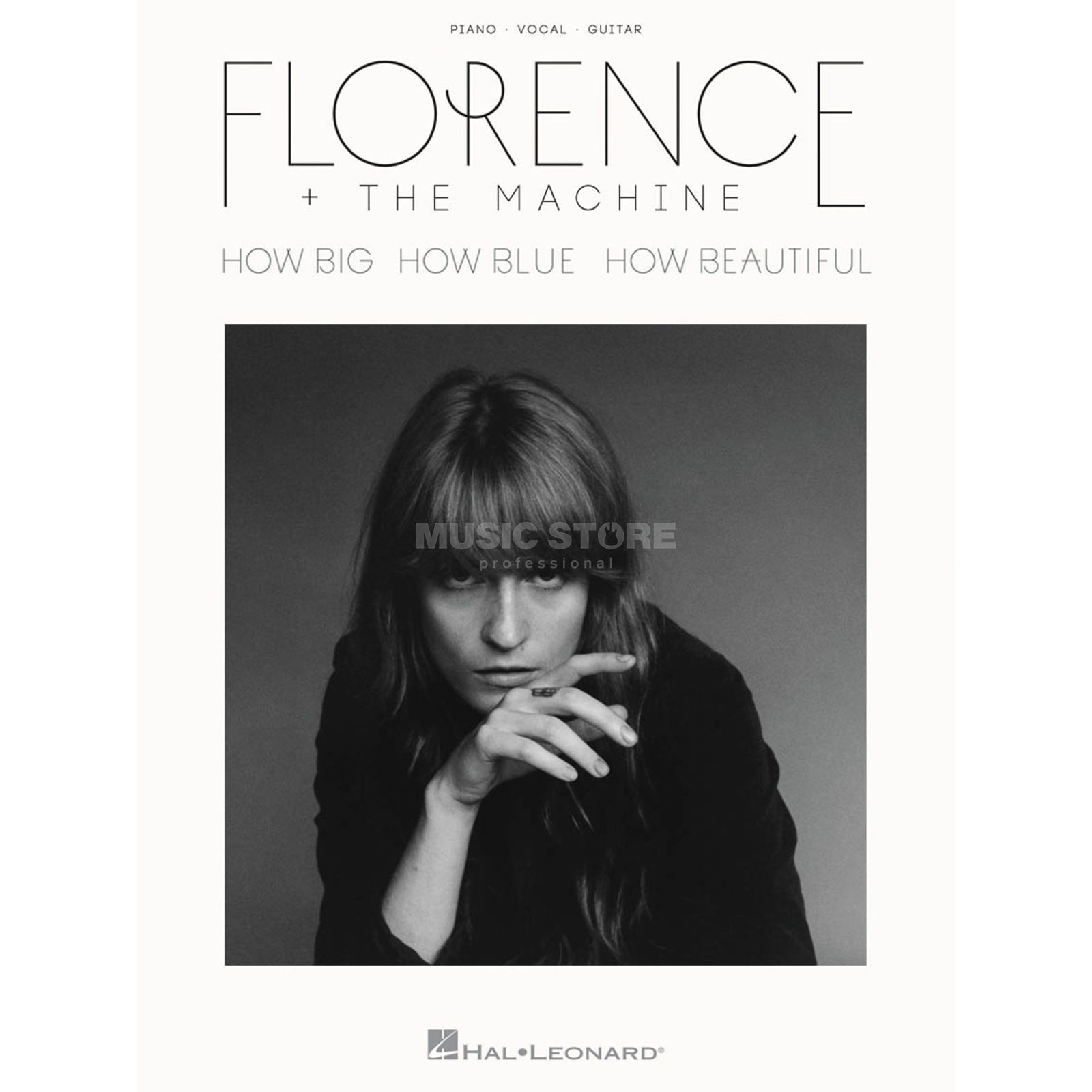 Hal Leonard Florence + The Machine: How Big, How Blue, How Beautiful Produktbillede