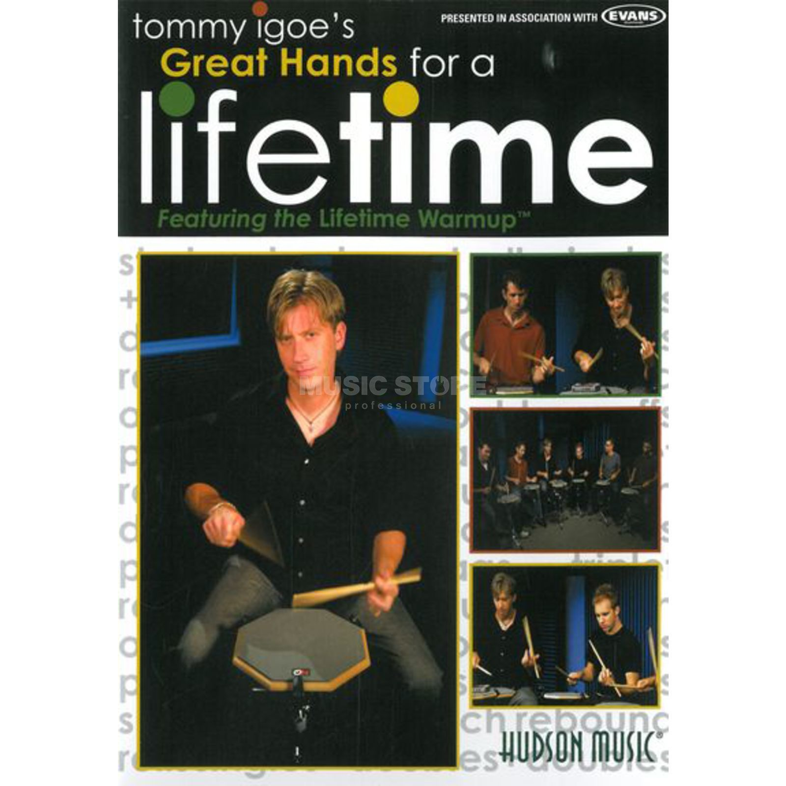 Hal Leonard Great Hands For A Lifetime Tommy Igoe, DVD Produktbild