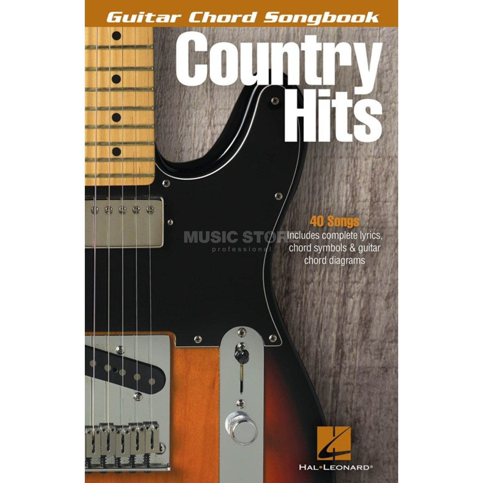 Hal Leonard Guitar Chord Songbook: Country Hits Produktbild