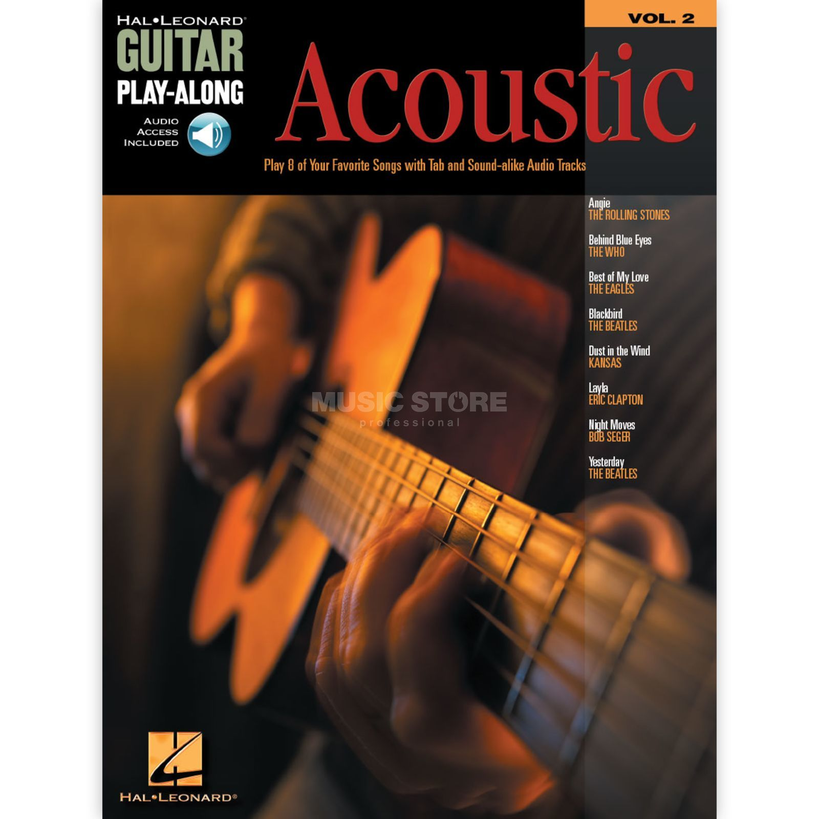 Hal Leonard Guitar Play-Along: Acoustic Vol. 2, TAB und CD Produktbild