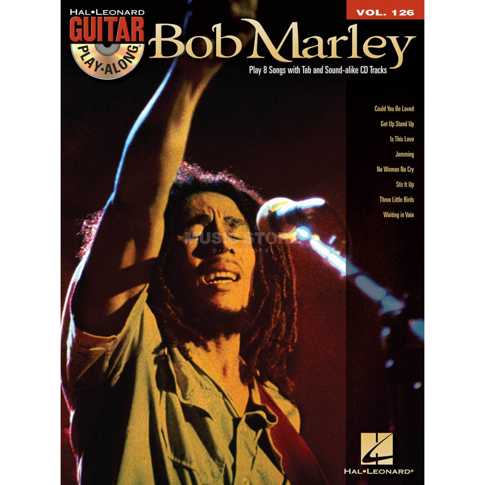 Hal Leonard Guitar Play-Along: Bob Marley Vol. 126, TAB und CD Produktbild