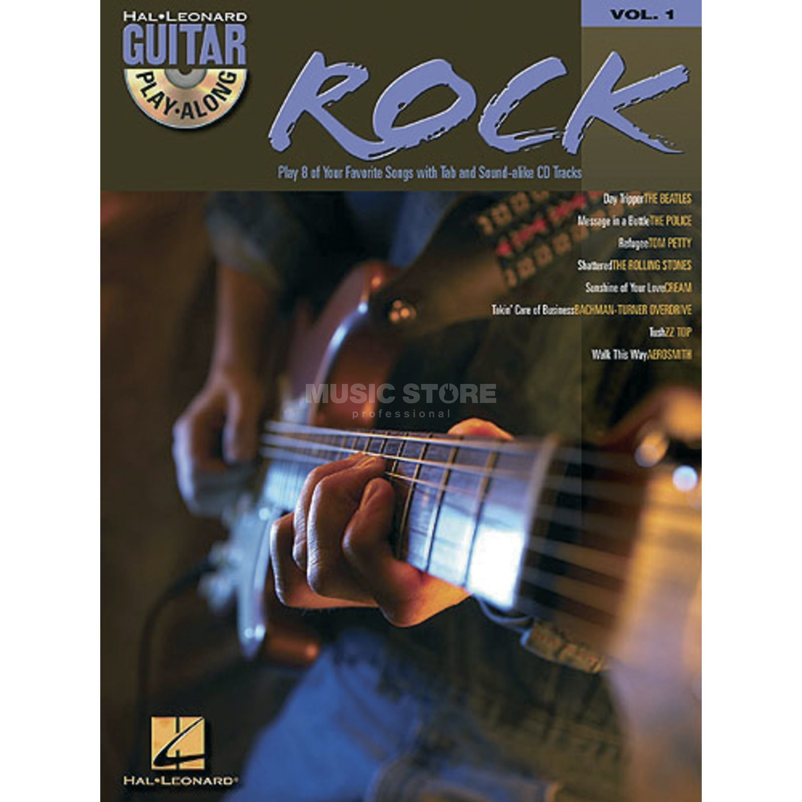 Hal Leonard Guitar Play-Along: Rock Vol. 1, TAB und CD Produktbild