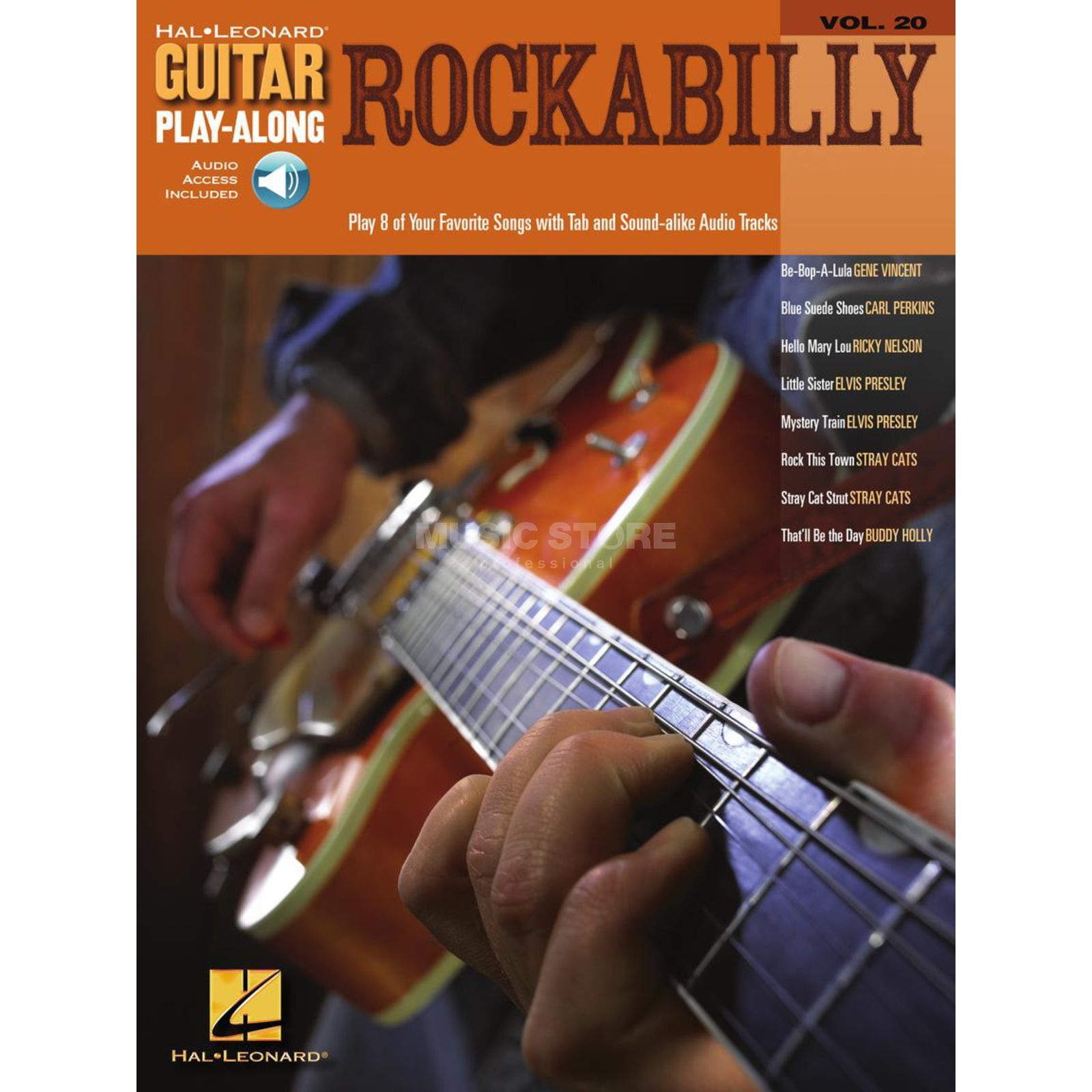 Hal Leonard Guitar Play-Along: Rockabilly Vol. 20, TAB und CD Produktbild