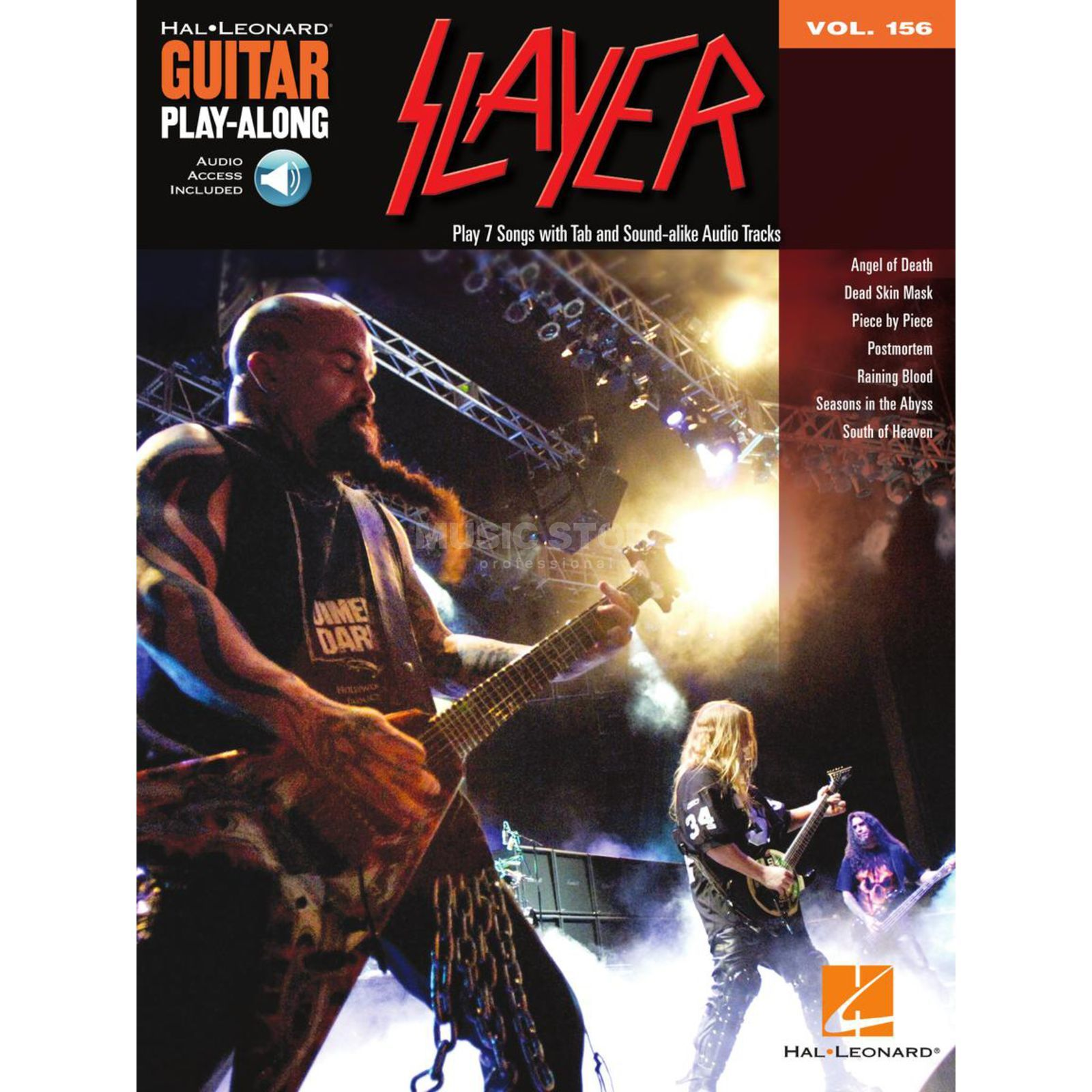 Hal Leonard Guitar Play-Along: Slayer Vol. 156, TAB und CD Produktbillede