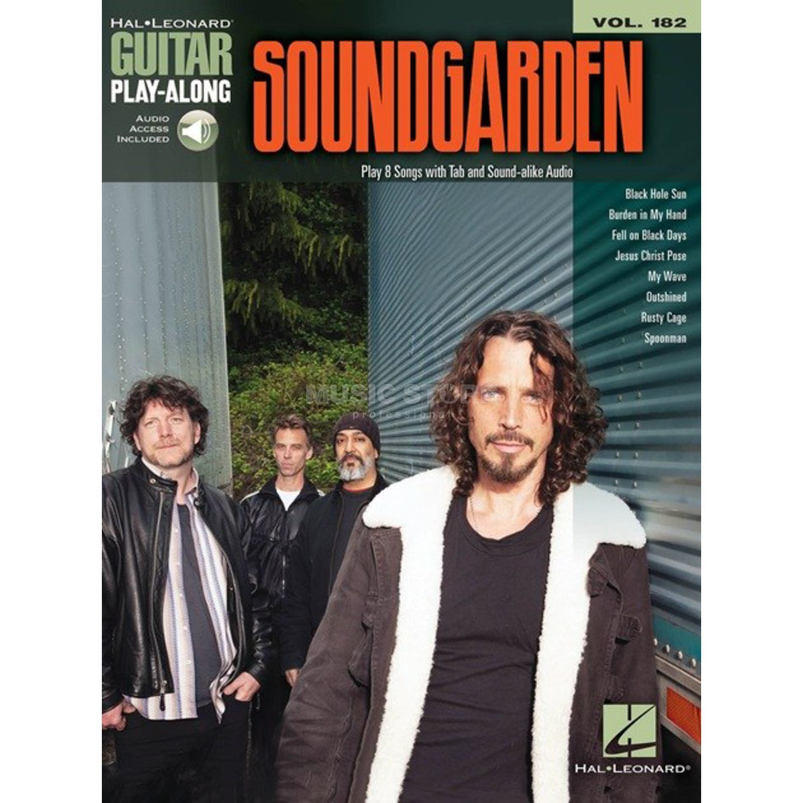 Hal Leonard Guitar Play-Along: Soundgarden Vol. 182, TAB and Download Produktbillede