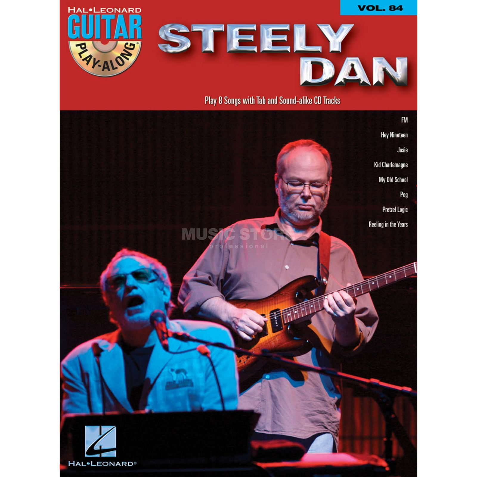 Hal Leonard Guitar Play Along - Steely Dan Book and CD Produktbillede