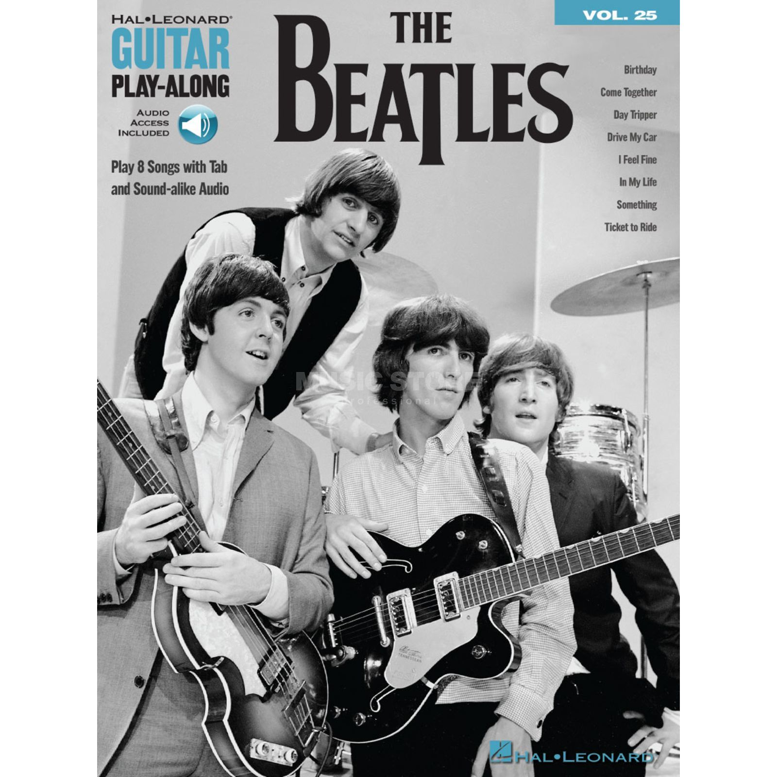 Hal Leonard Guitar Play-Along Volume 25: The Beatles Imagem do produto