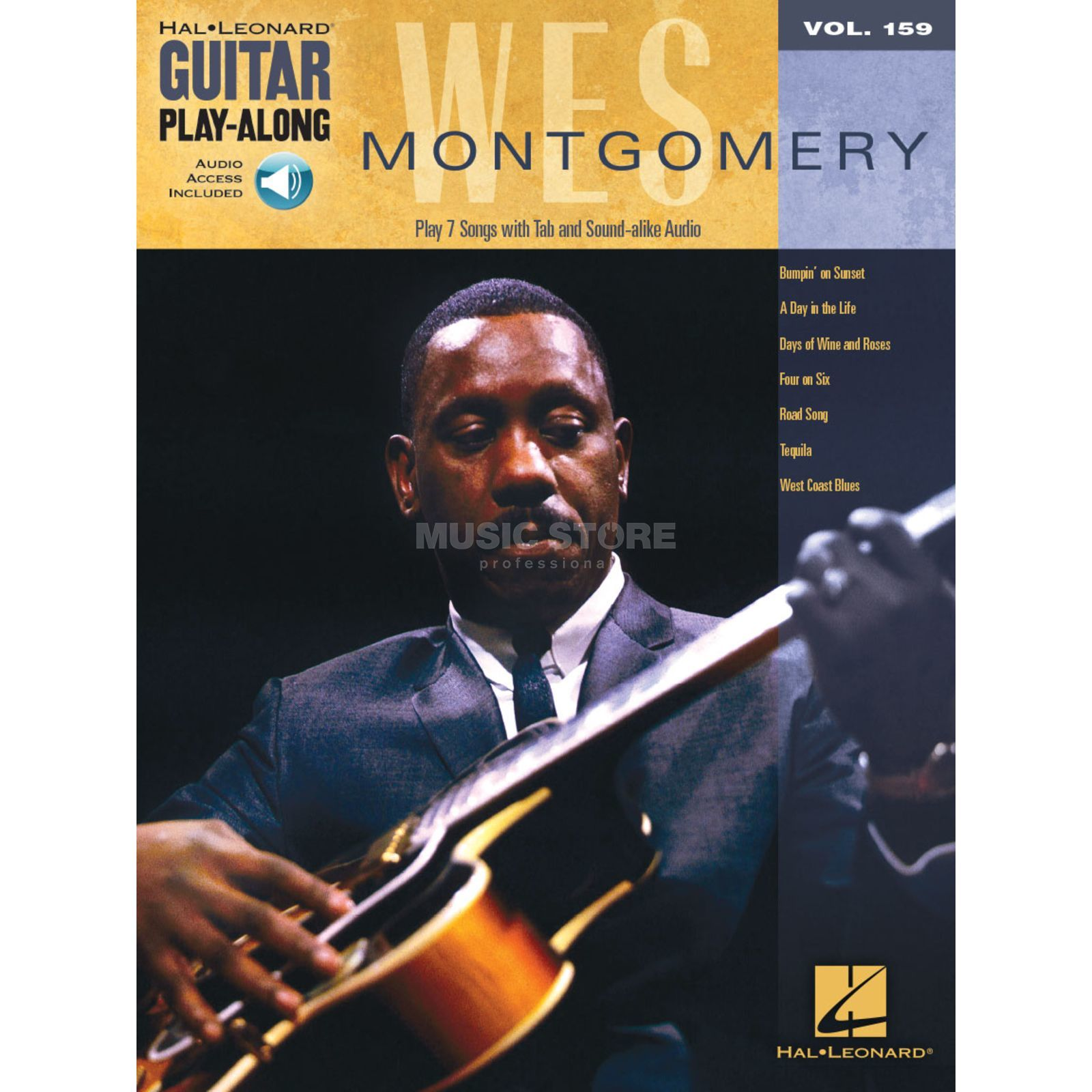 Hal Leonard Guitar Play-Along: Wes Montgomery Vol. 159, TAB und Download Produktbillede