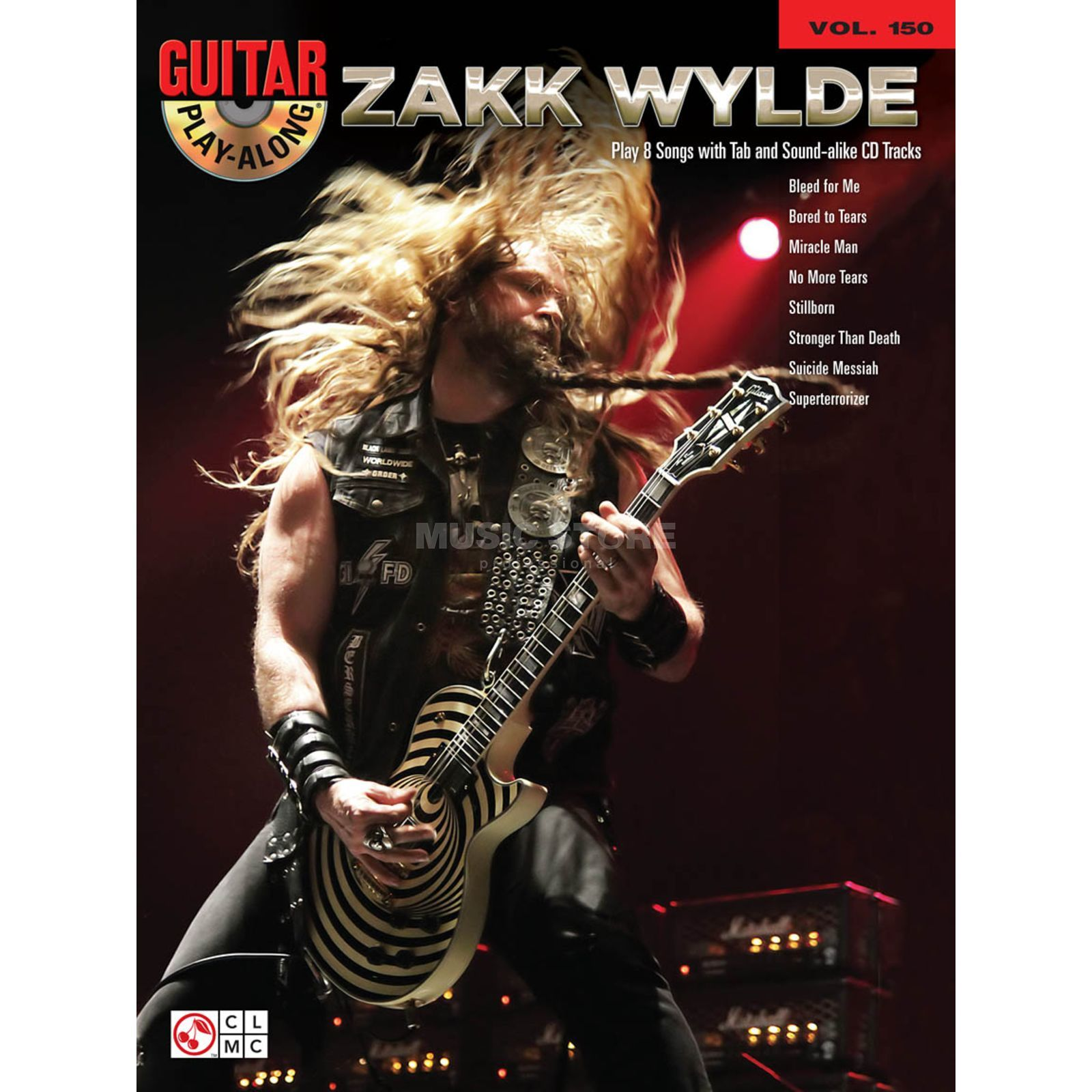 Hal Leonard Guitar Play-Along: Zakk Wylde Vol. 150, TAB und CD Produktbild