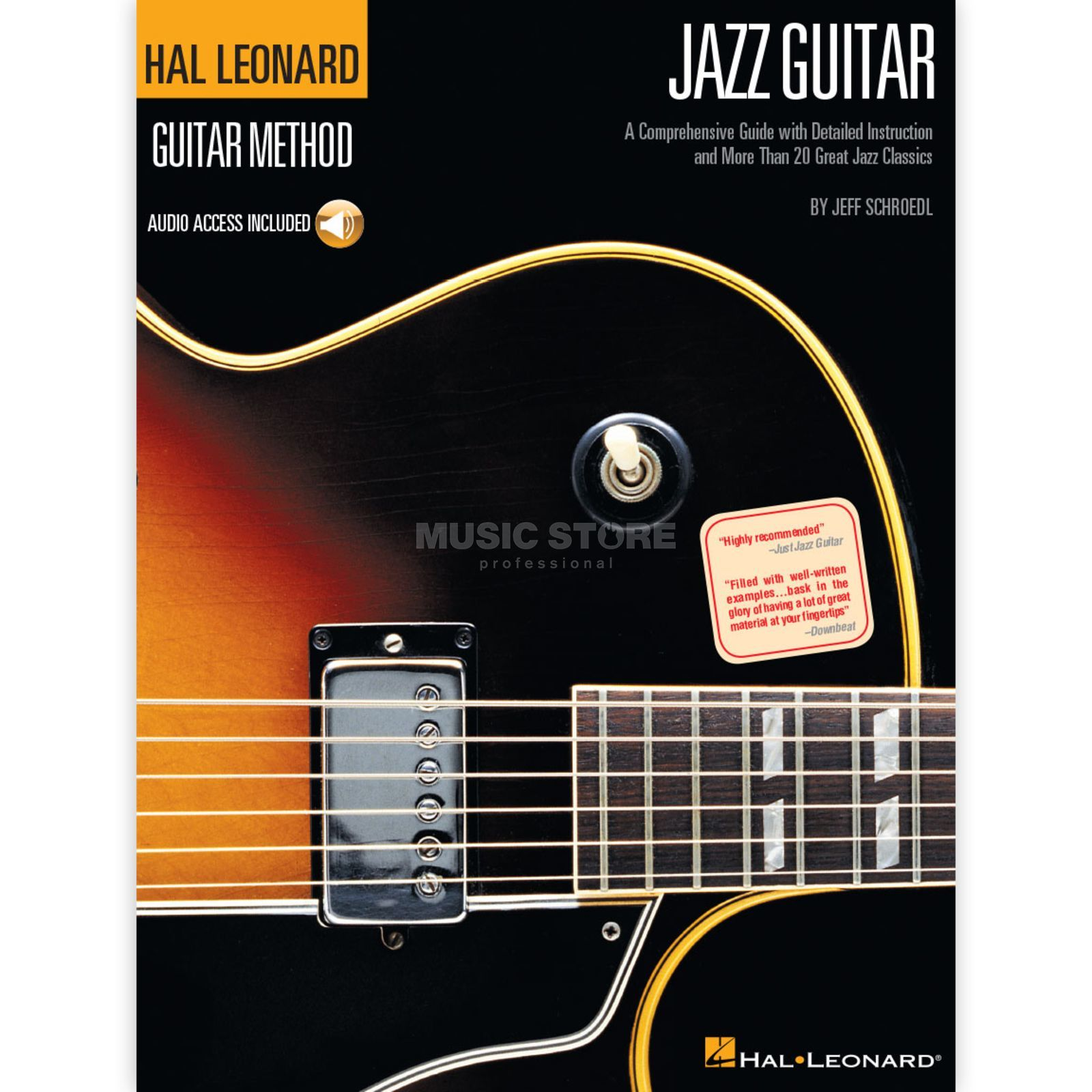 Hal Leonard Hal Leonard Guitar Method: Jazz Guitar Produktbild