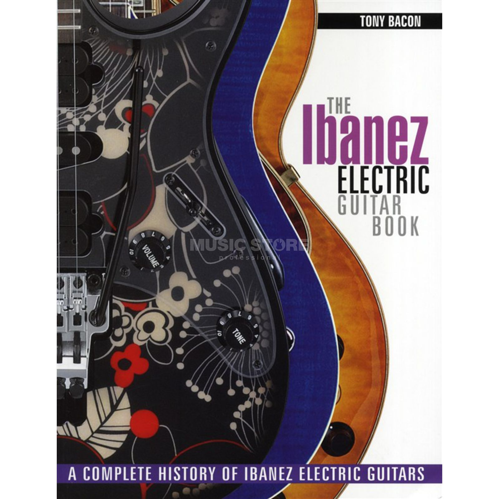 Hal Leonard Ibanez Electric Guitar Book Tony Bacon Produktbild