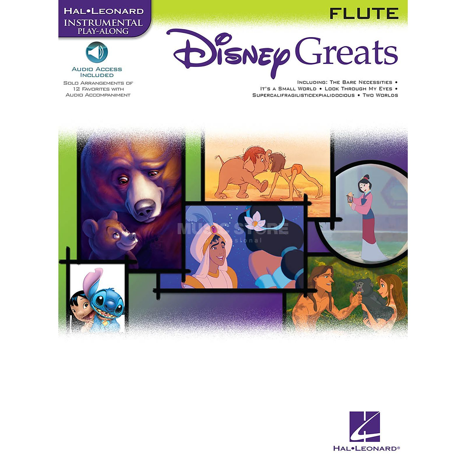 Hal Leonard Instrumental Play-Along: Disney Greats - Flute Product Image