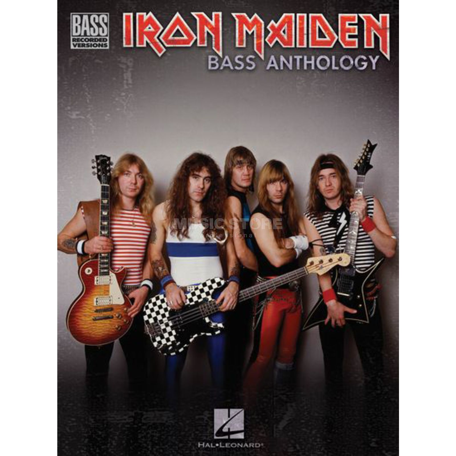 Hal Leonard Iron Maiden - Bass Anthology Bass TAB Produktbild
