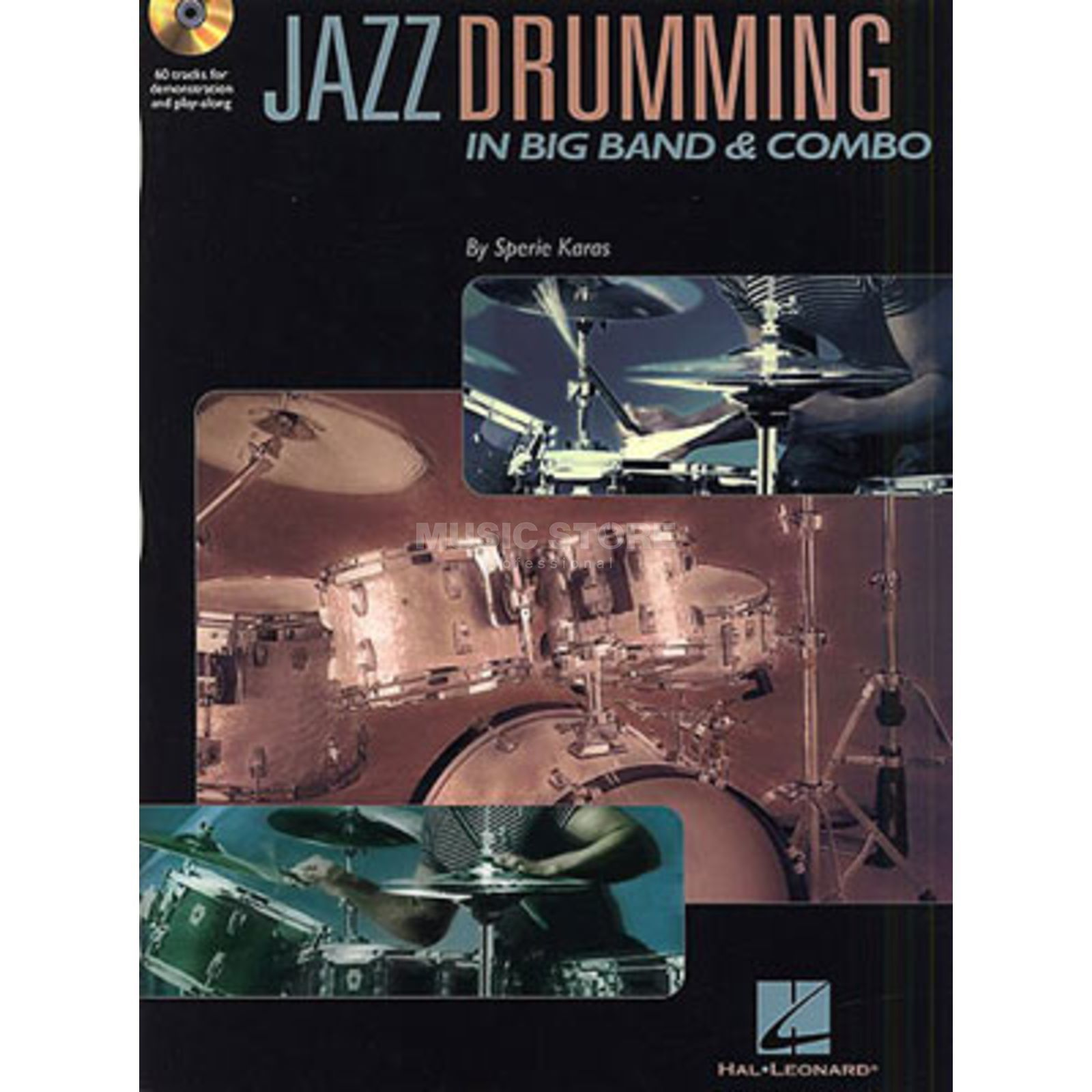 Hal Leonard Jazz Drumming in Big Band Sperie Karas,inkl. CD Produktbillede
