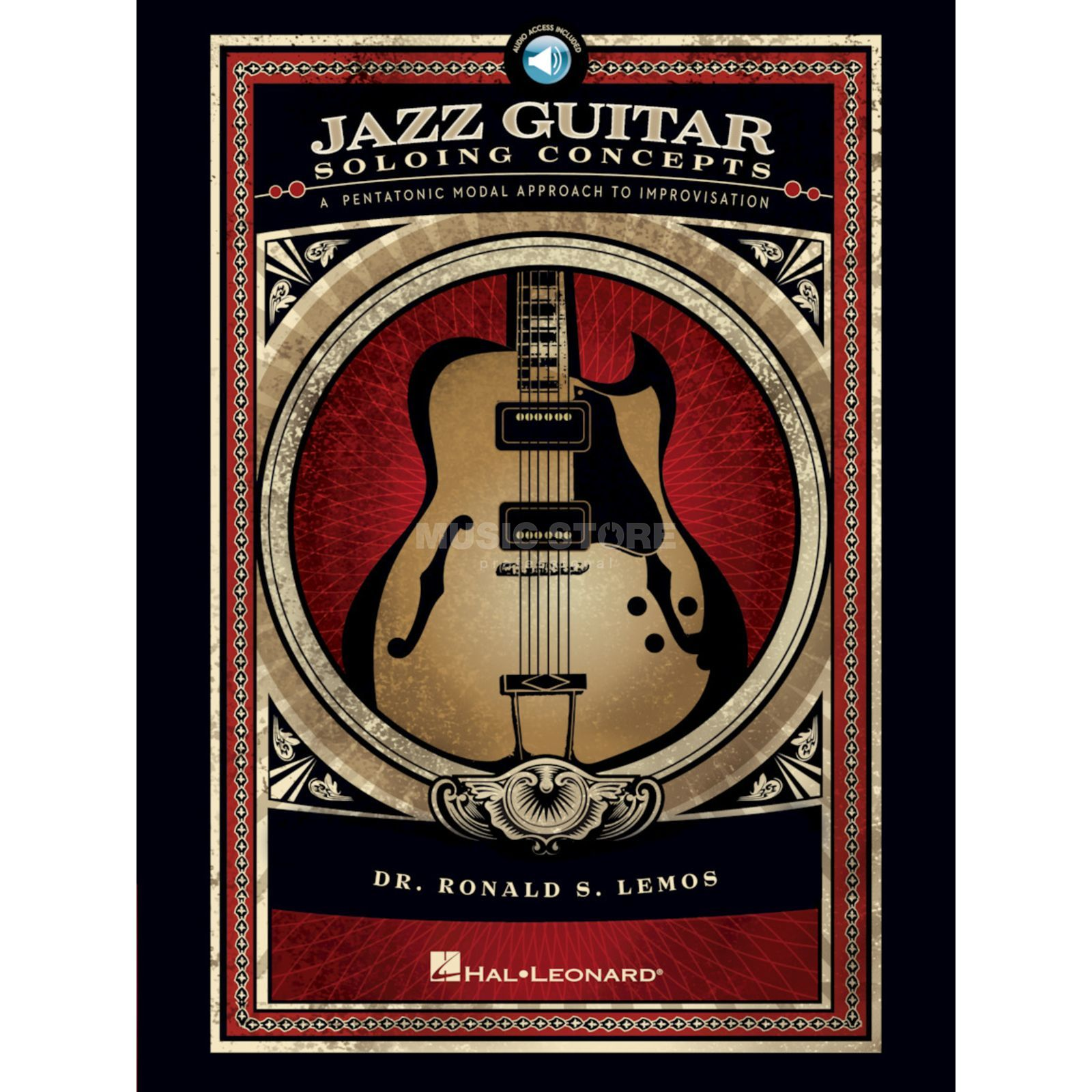 Hal Leonard Jazz Guitar Soloing Concepts Book and CD Produktbillede