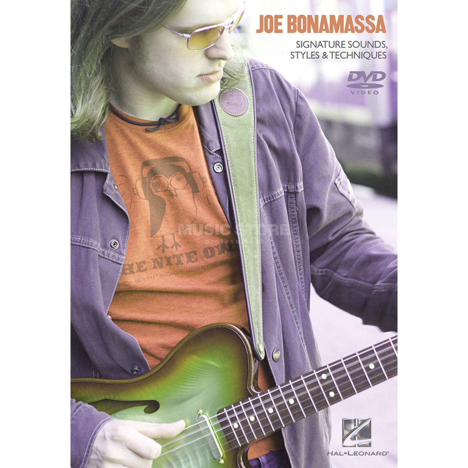 Hal Leonard Joe Bonamassa: Signature Sounds, Styles And Techniques Produktbillede