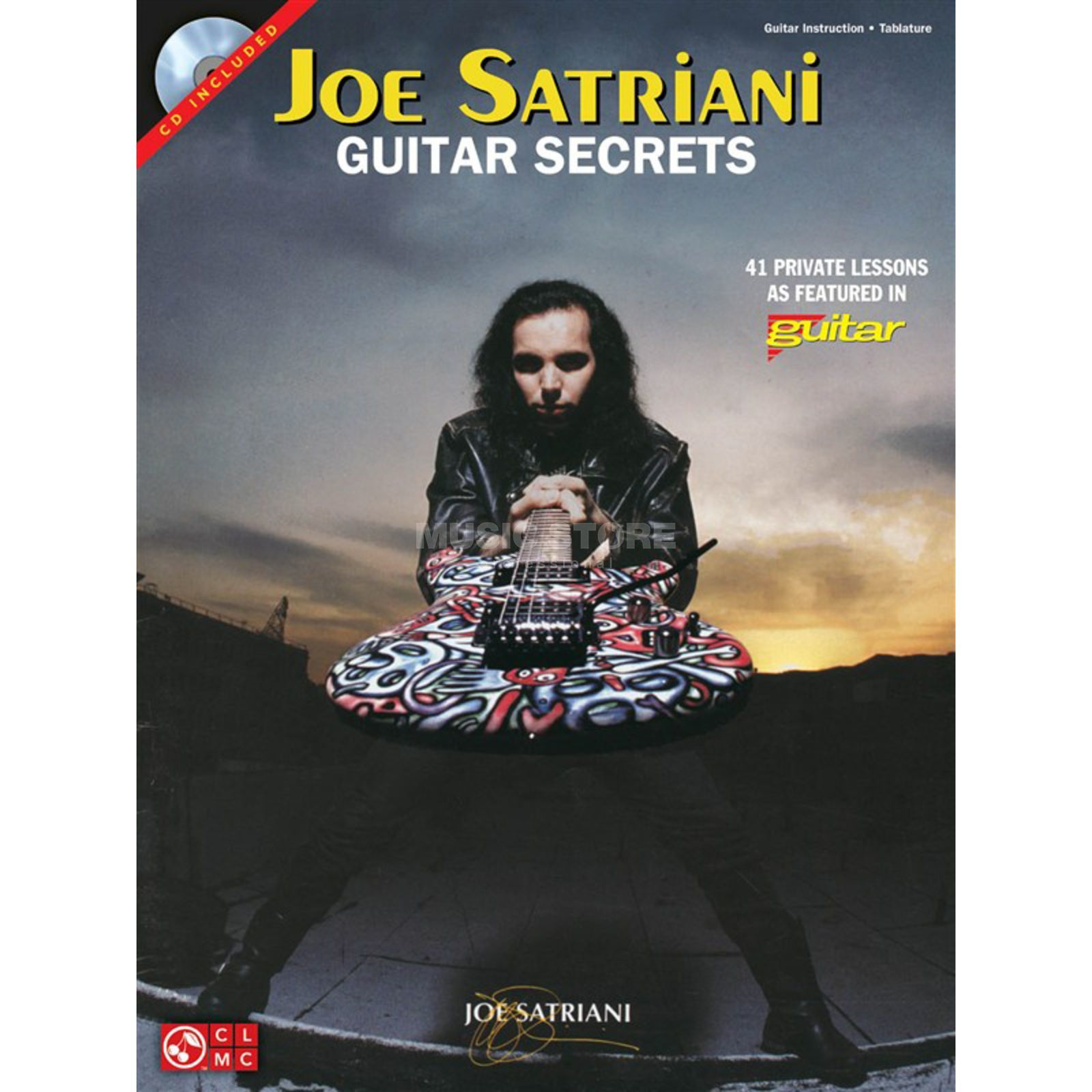 Hal Leonard Joe Satriani: Guitar Secrets (CD Edition) Produktbillede