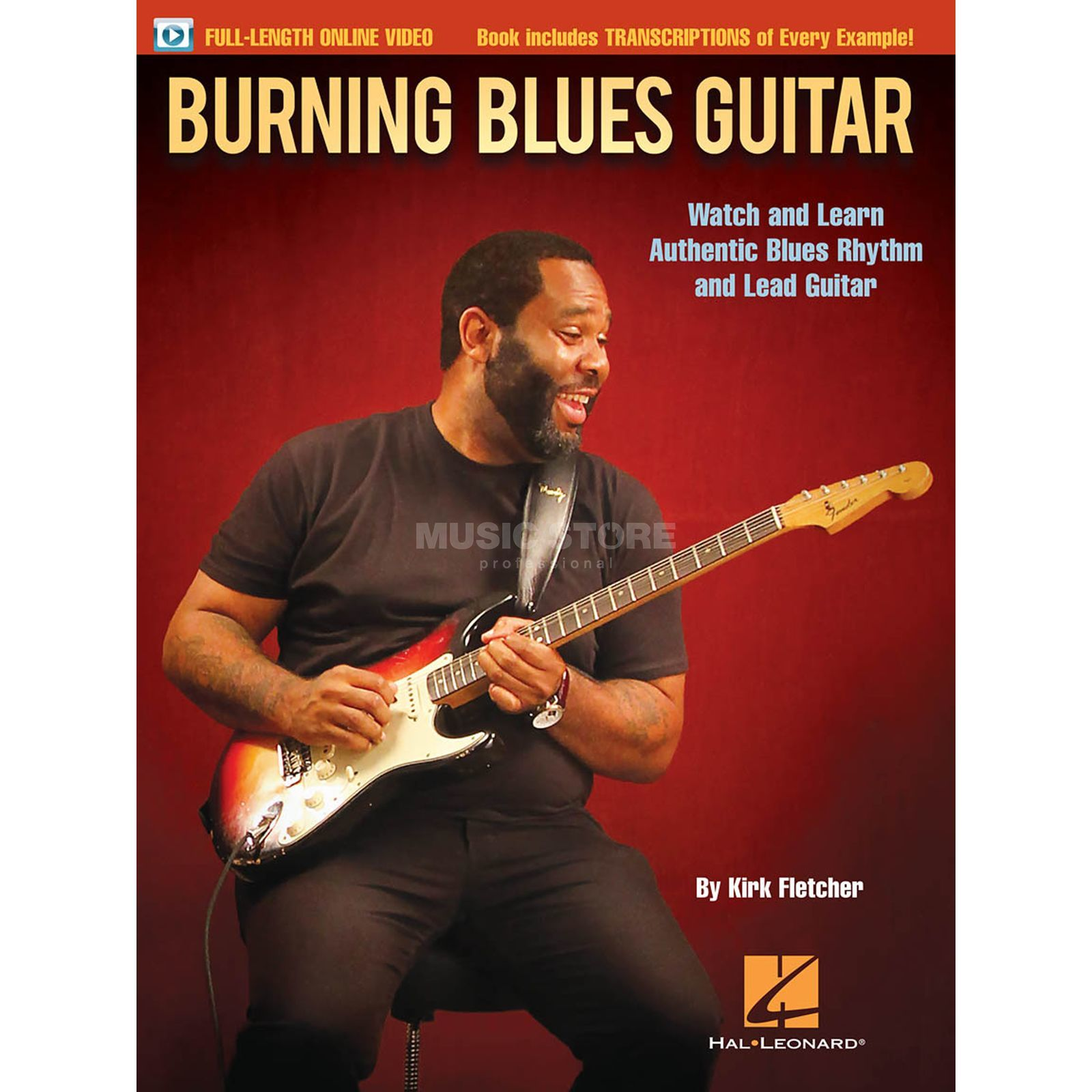 Hal Leonard Kirk Fletcher: Burning Blues Guitar Produktbillede