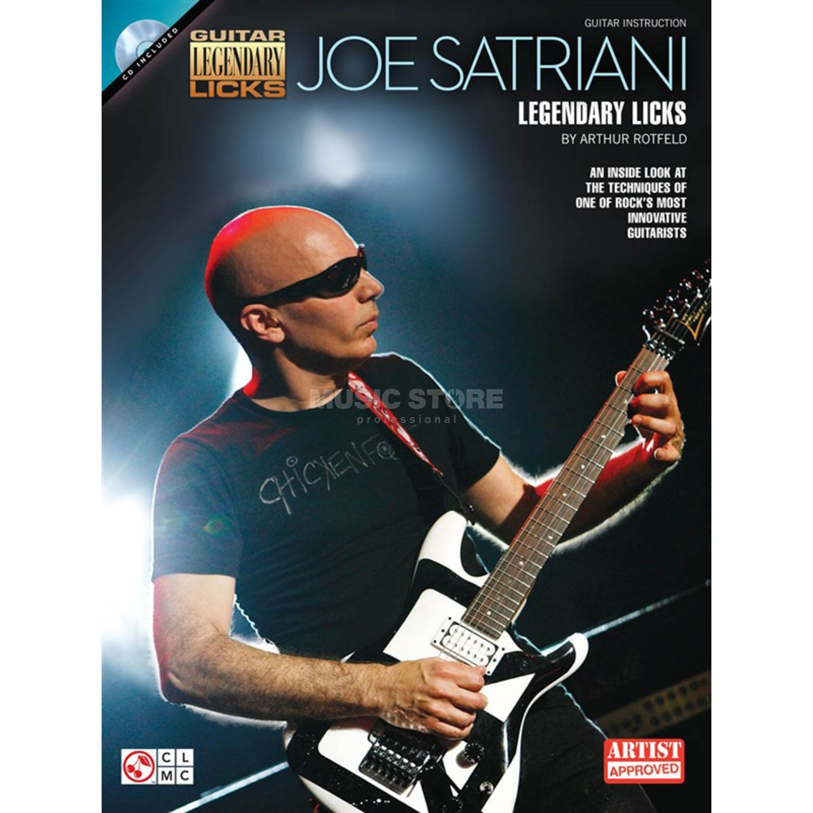 Hal Leonard Legendary Licks: Joe Satriani Guitar Produktbild