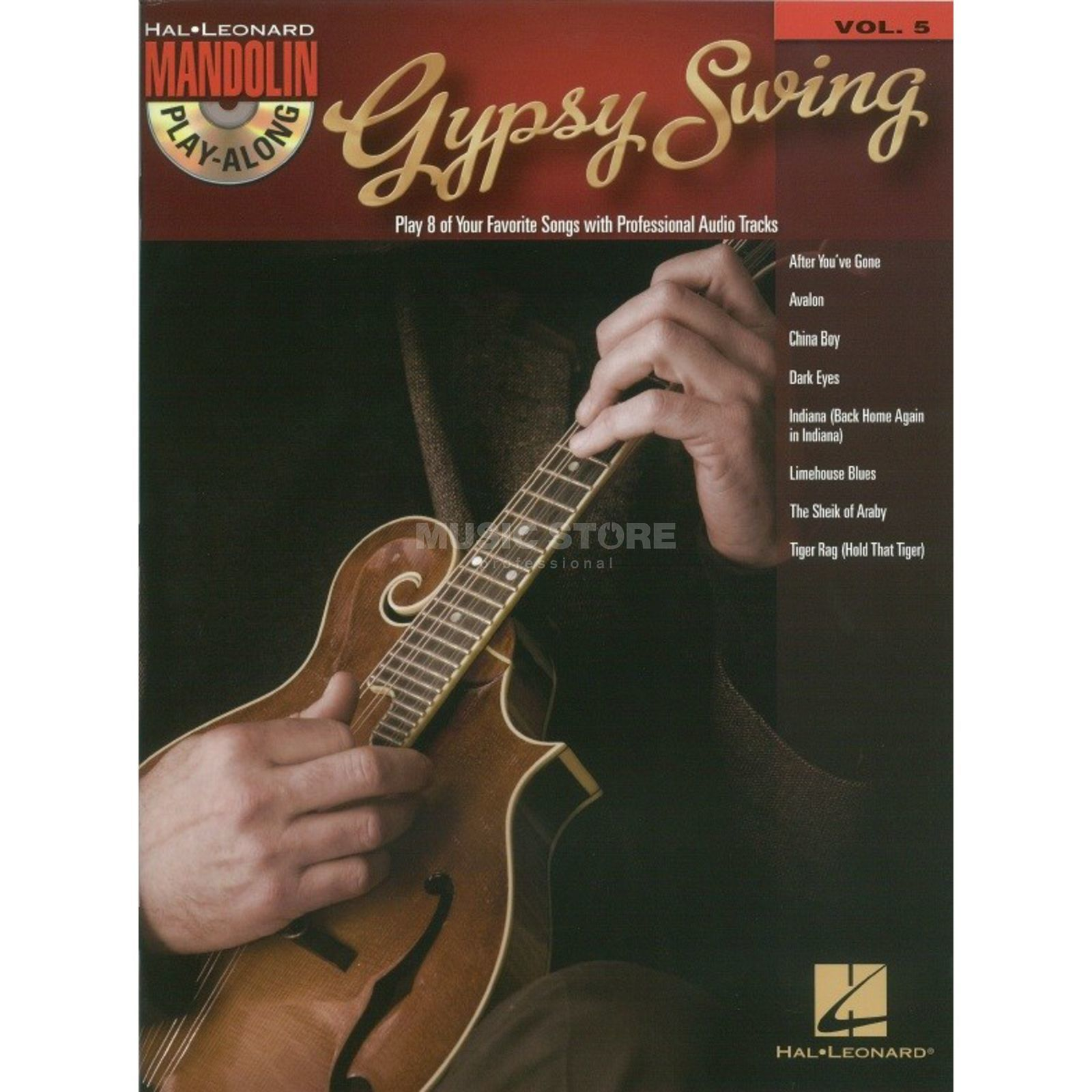 Hal Leonard Mandolin Play-Along: Gypsy Vol. 5, Mandolin Produktbillede