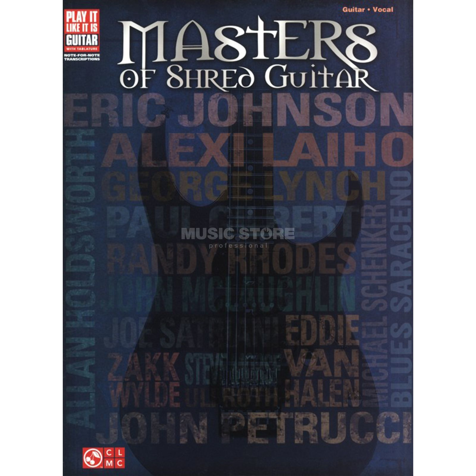 Hal Leonard Masters Of Shred Guitar Produktbild