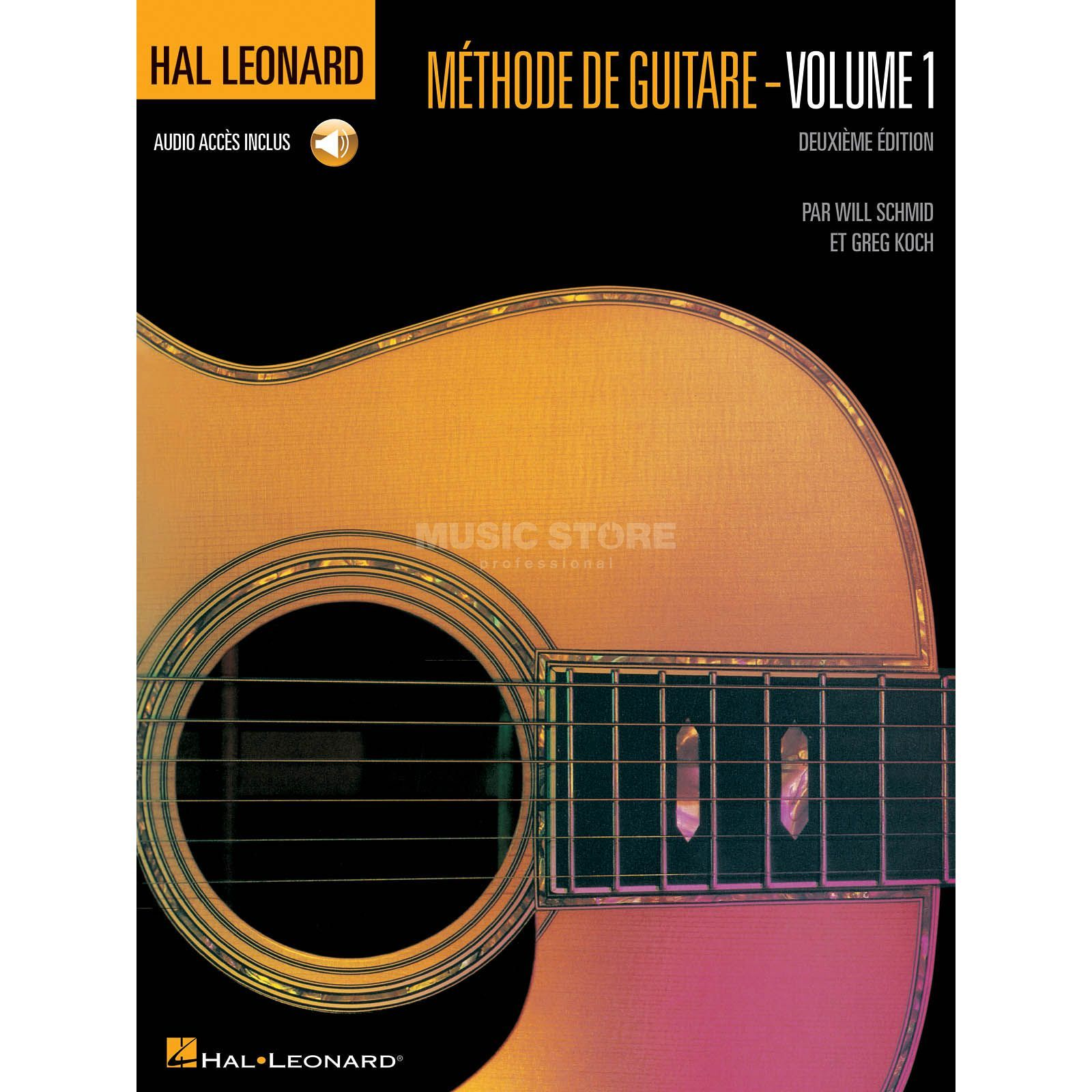 Hal Leonard Methode De Guitare Volume 1 Deuxieme Edition Avec CD Produktbillede