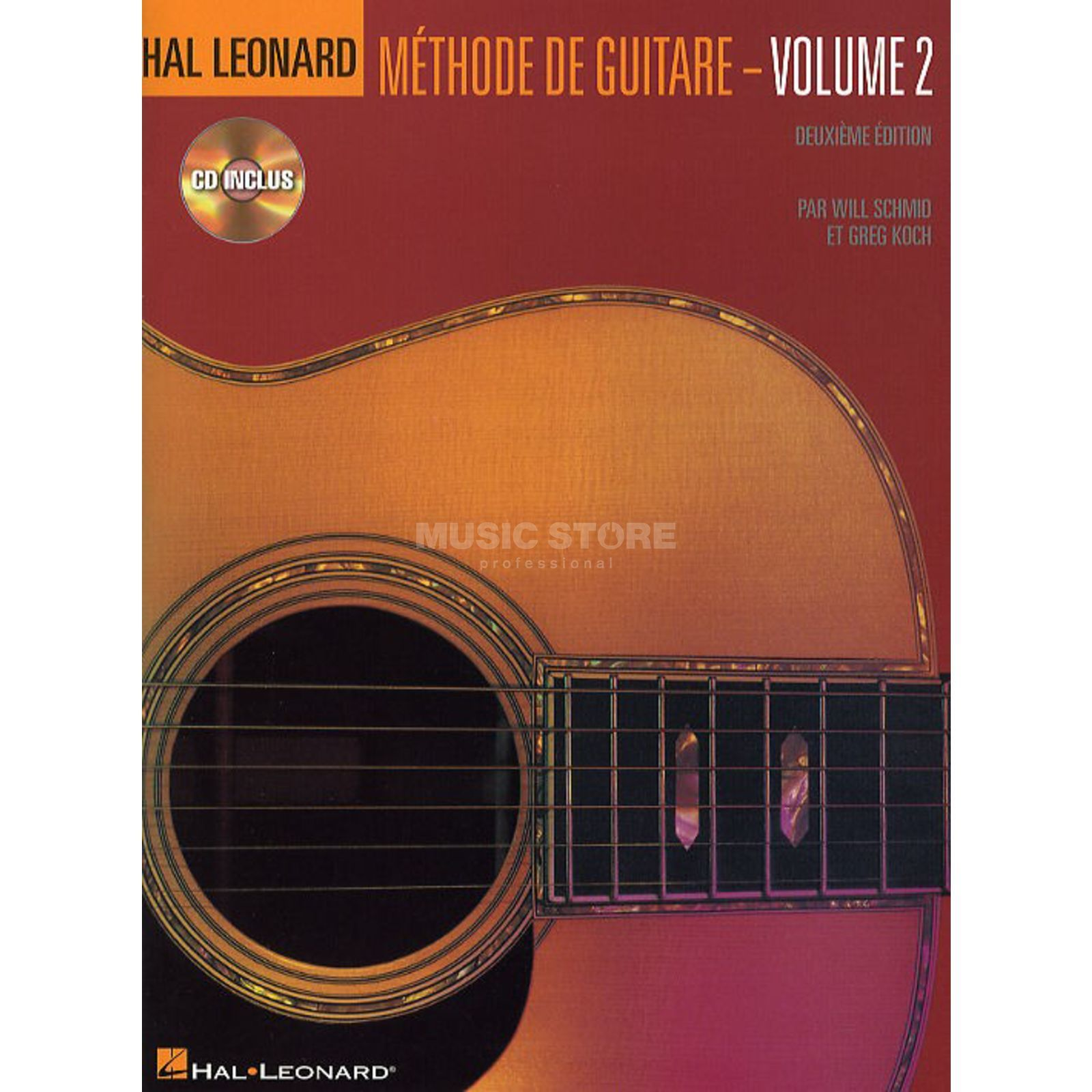 Hal Leonard Methode De Guitare Volume 2 Deuxieme Edition Avec CD Produktbillede