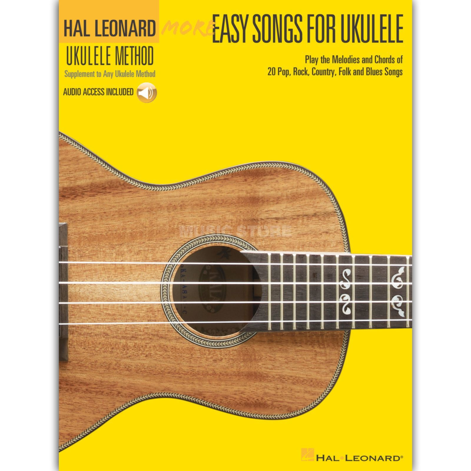 Hal Leonard More Easy Songs For Ukulele Buch/CD Produktbild