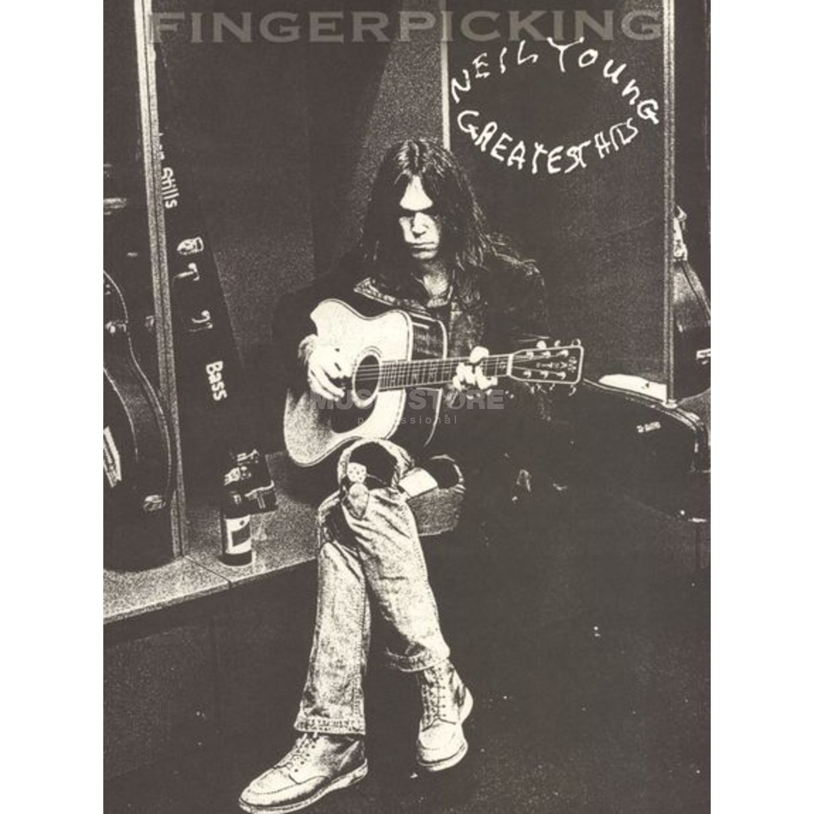 Hal Leonard Neil Young - Greatest Hits Fingerpicking Guitar Produktbild