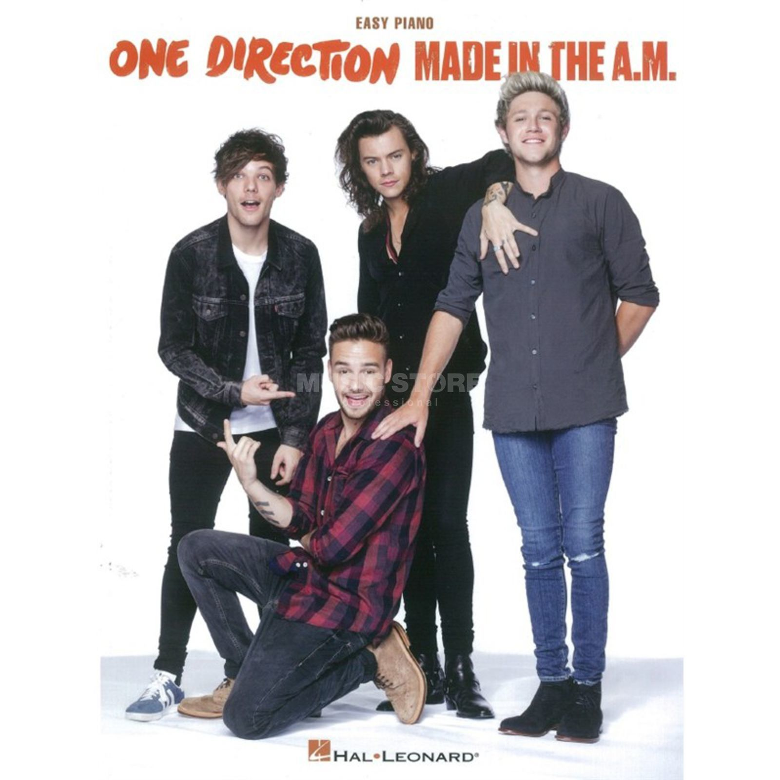 Hal Leonard One Direction: Made In The A.M. - Easy Piano/Lyrics & Chords Produktbillede