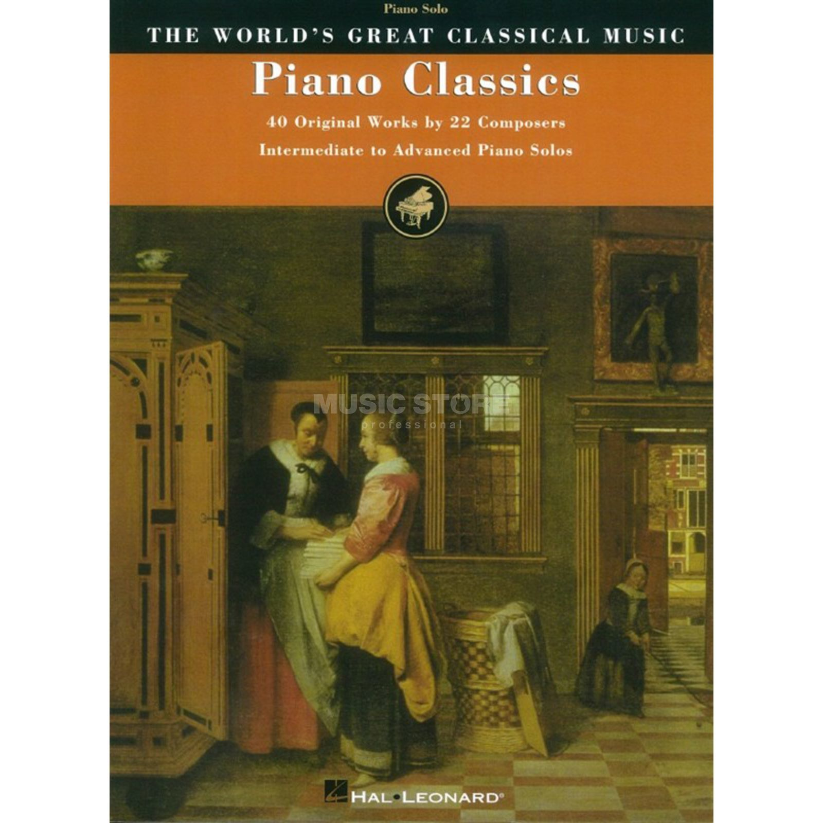 Hal Leonard Piano Classics: 40 Original Works By 22 Composers Produktbild
