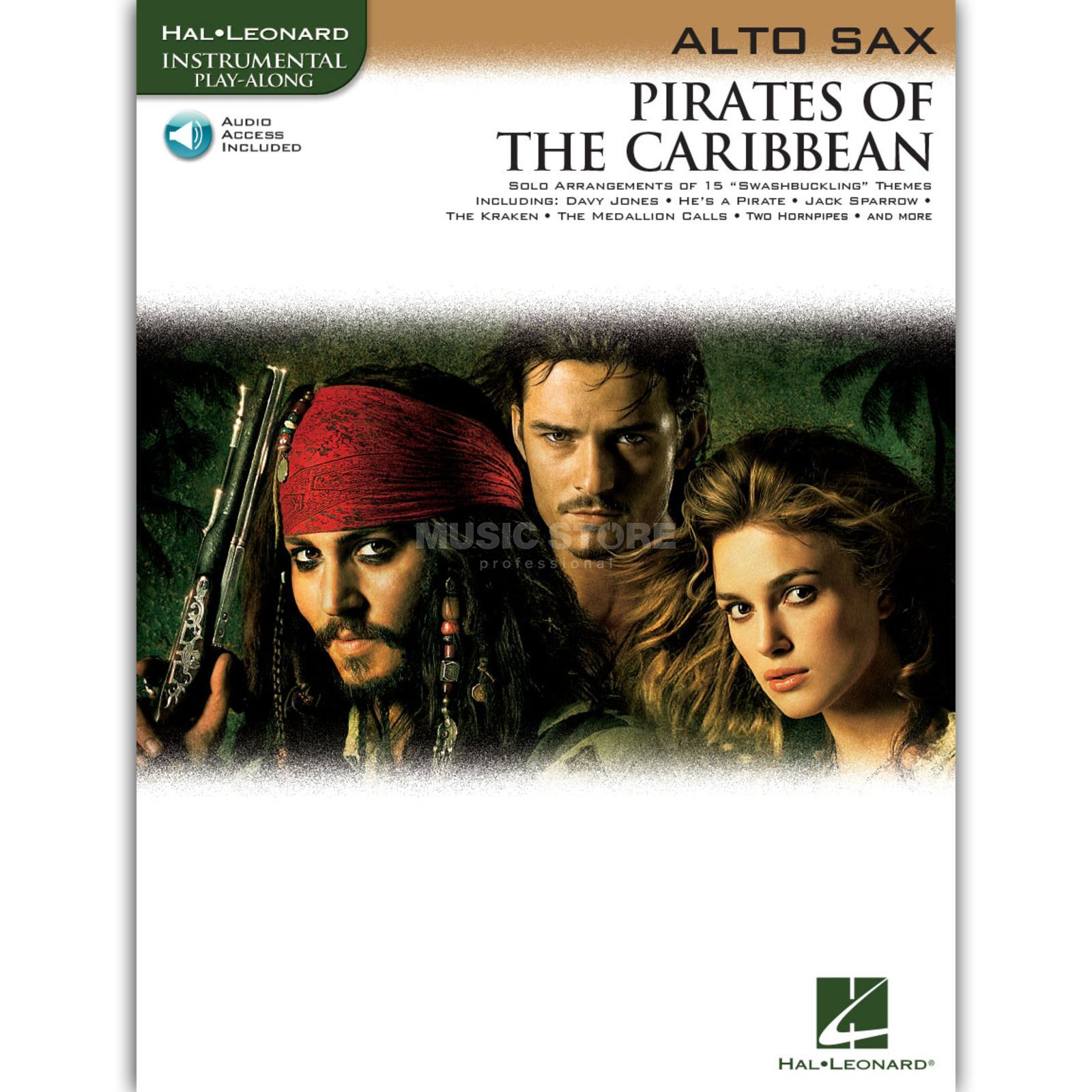 Hal Leonard Pirates Of The Caribbean Alt-Saxophon/CD, Leicht Produktbild