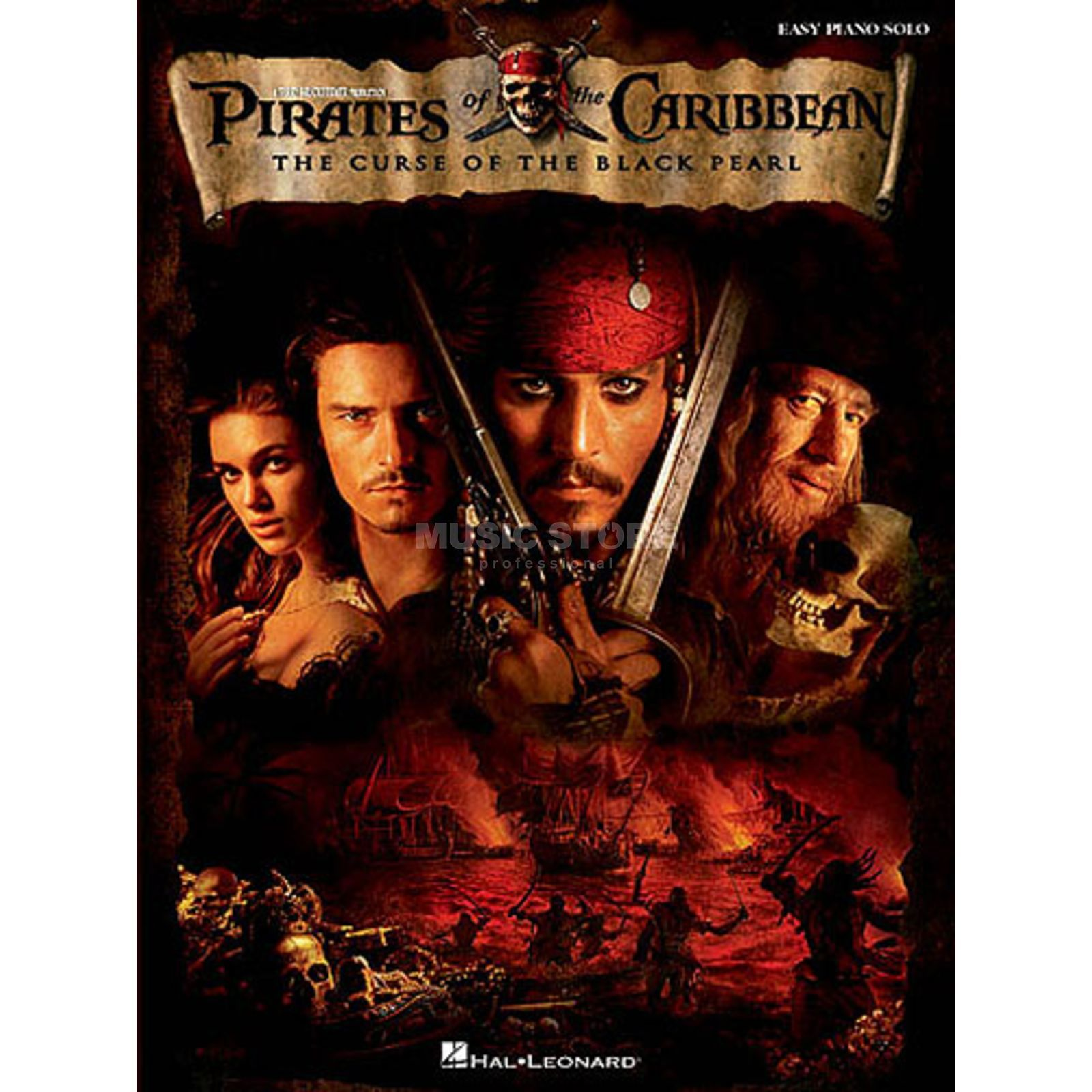 Hal Leonard Pirates Of The Caribbean Easy Piano Solo Produktbillede