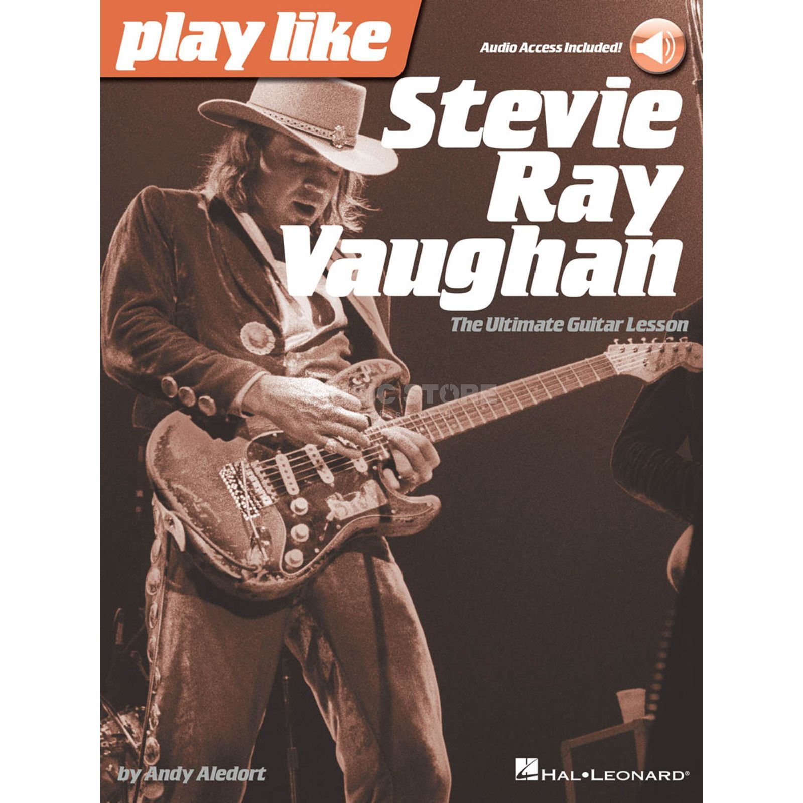 Hal Leonard Play Like Stevie Ray Vaughan: The Ultimate Guitar Lesson Produktbild