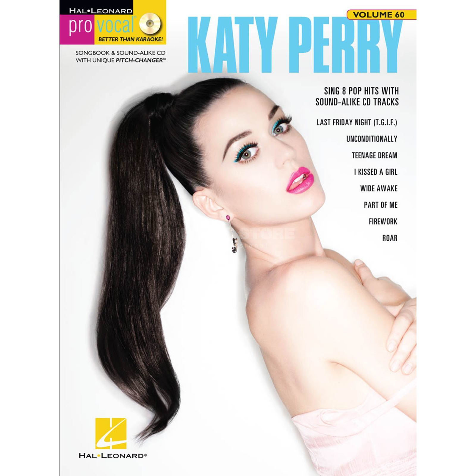 Hal Leonard Pro Vocal: Katy Perry Vol. 60, Vocal Produktbillede
