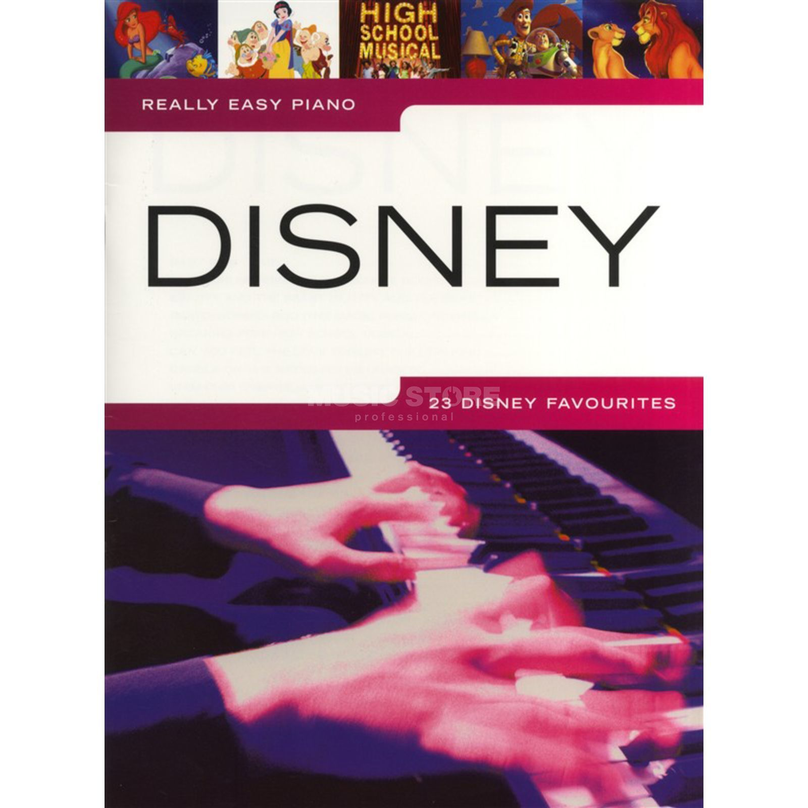 Hal Leonard Really Easy Piano: Disney  Produktbild