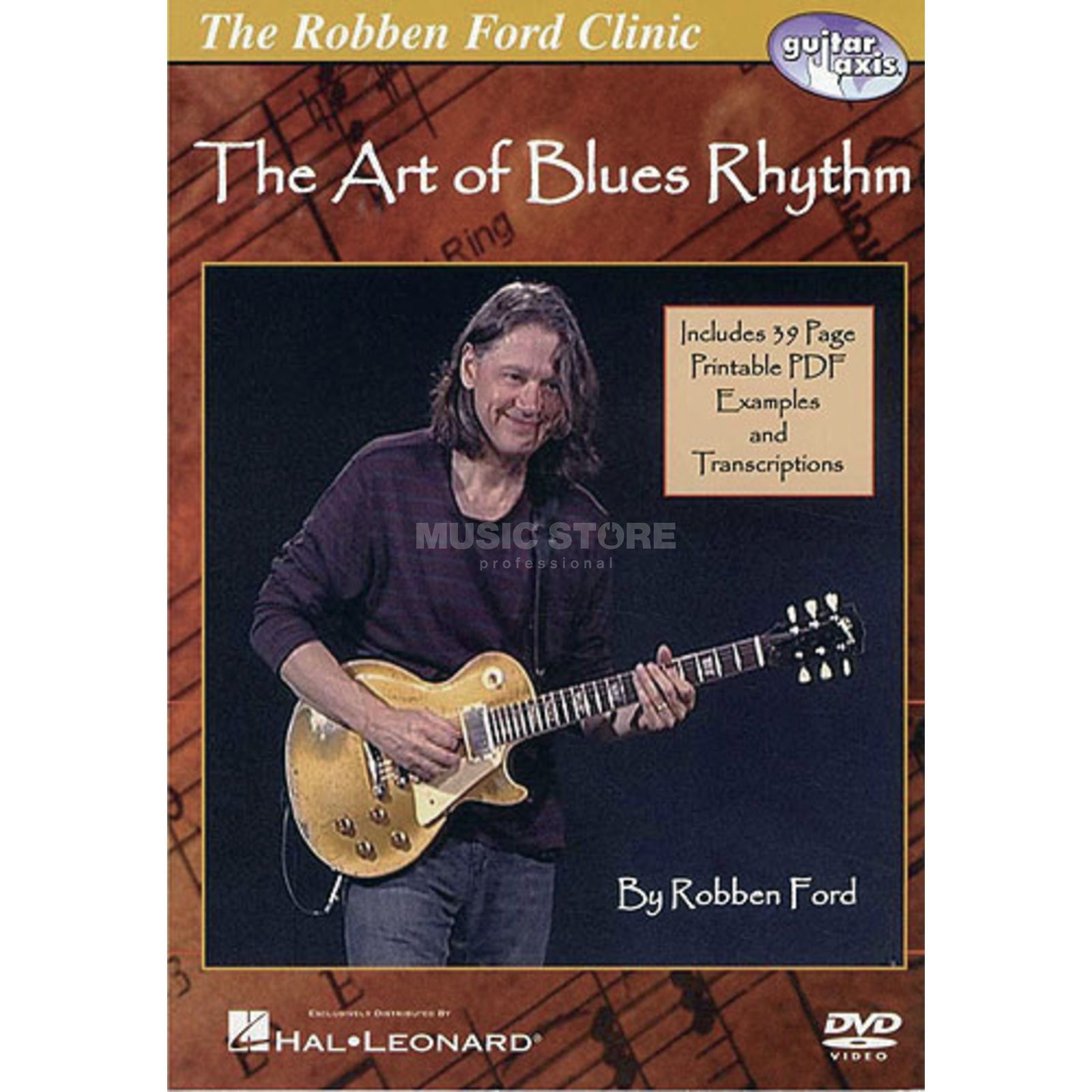 Hal Leonard Robben Ford - Art Blues Rhythm DVD Product Image